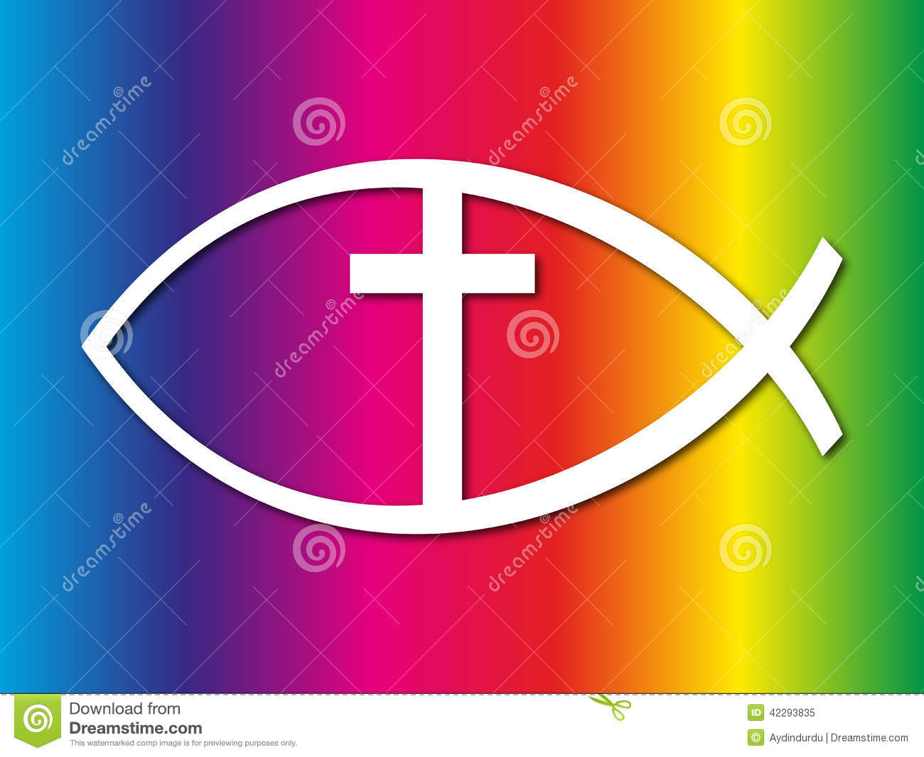 Christian Fish Sign Stock Photo - Image: 42293835
