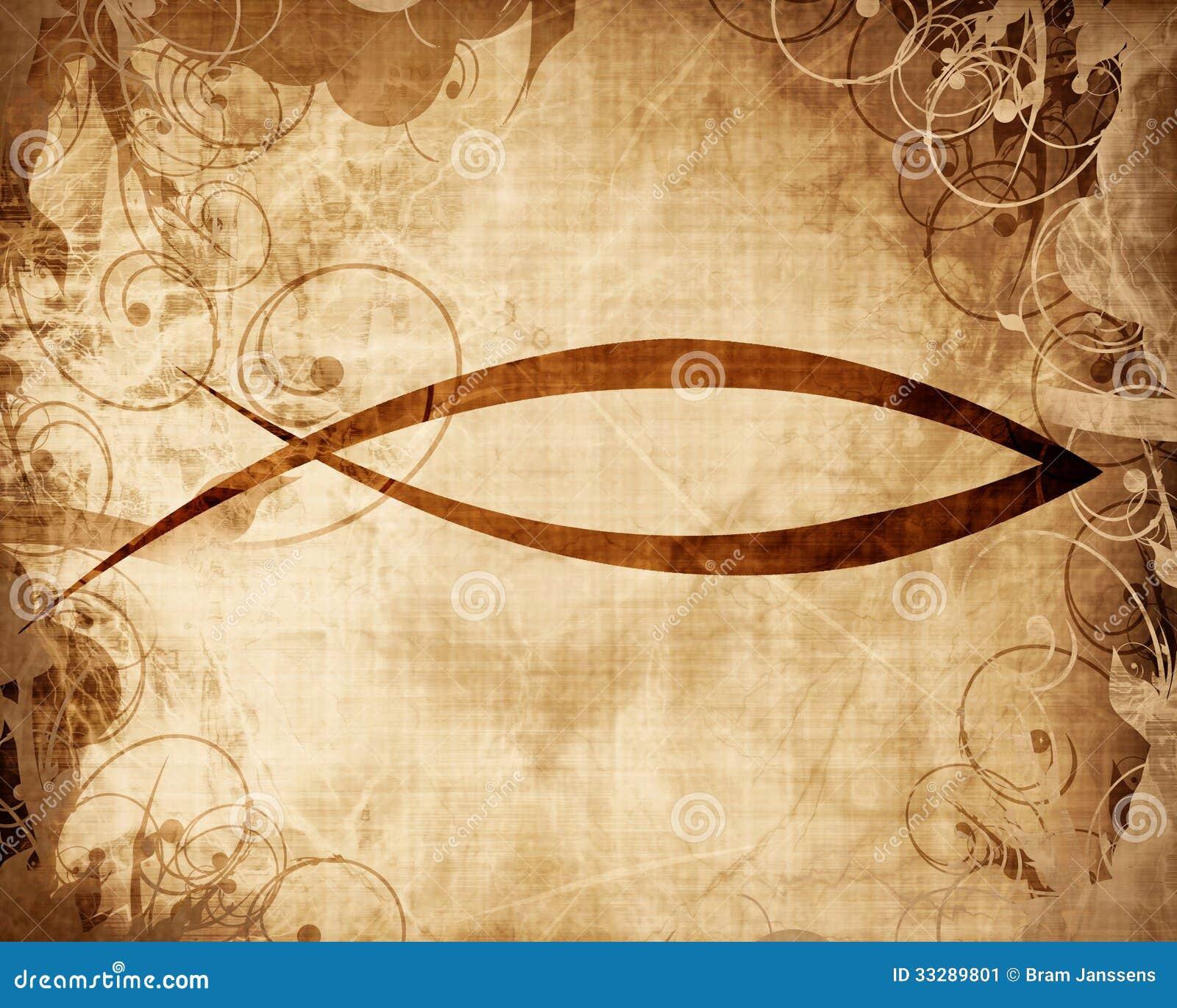 Christian Fish Symbol Stock Illustration Illustration Of Gospel