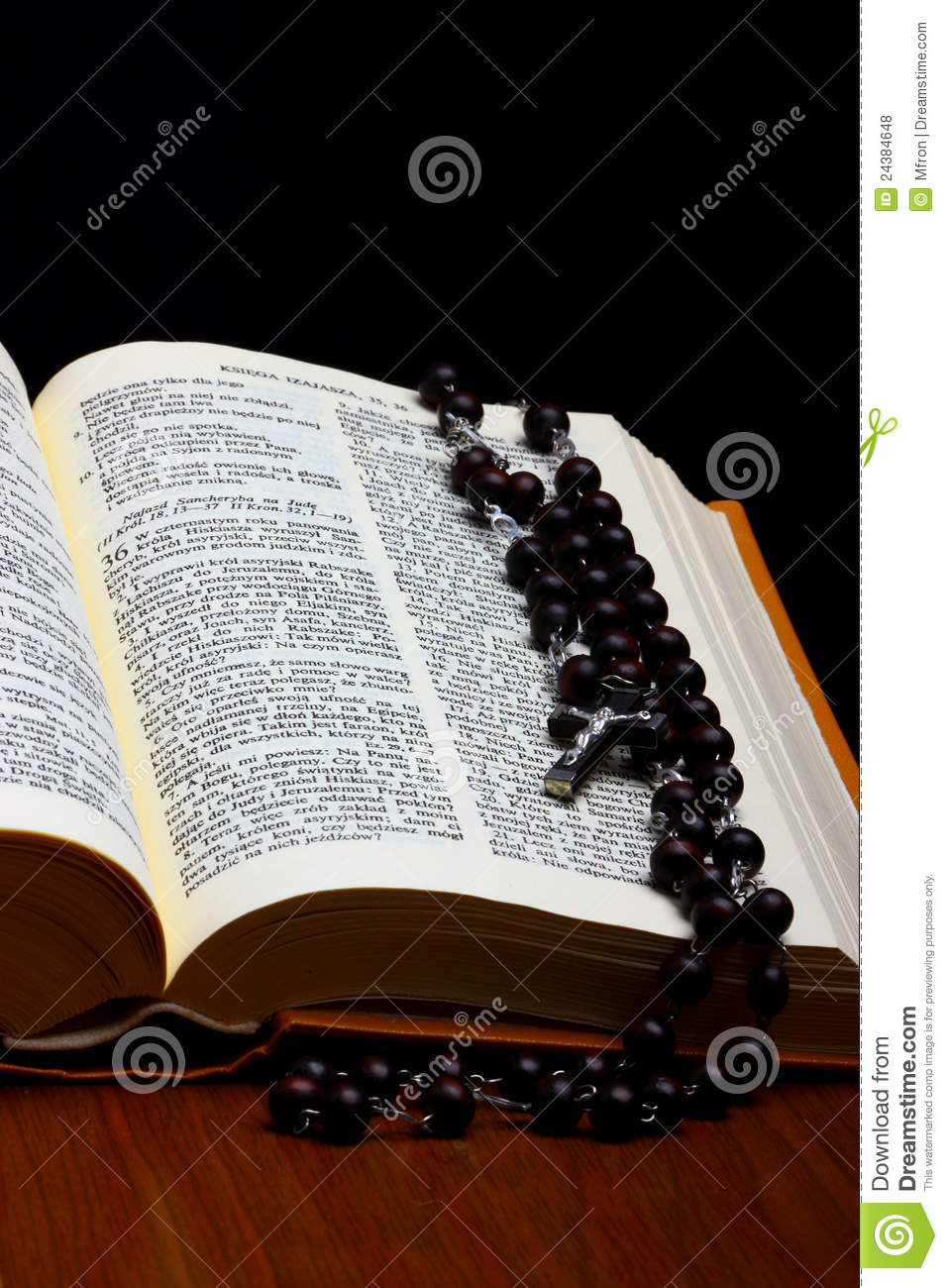 christian holy bible with cross royalty free stock photos image