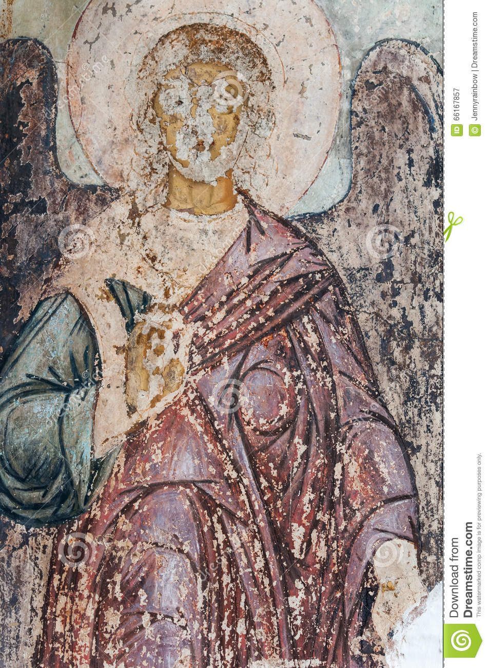 Christian mural painting stock photo image 66167857 for Christian mural