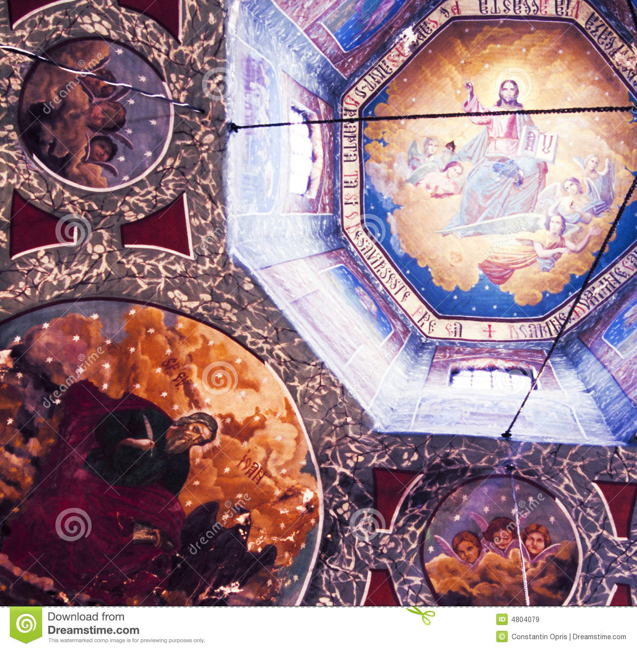 Christian murals royalty free stock images image 4804079 for Christian mural
