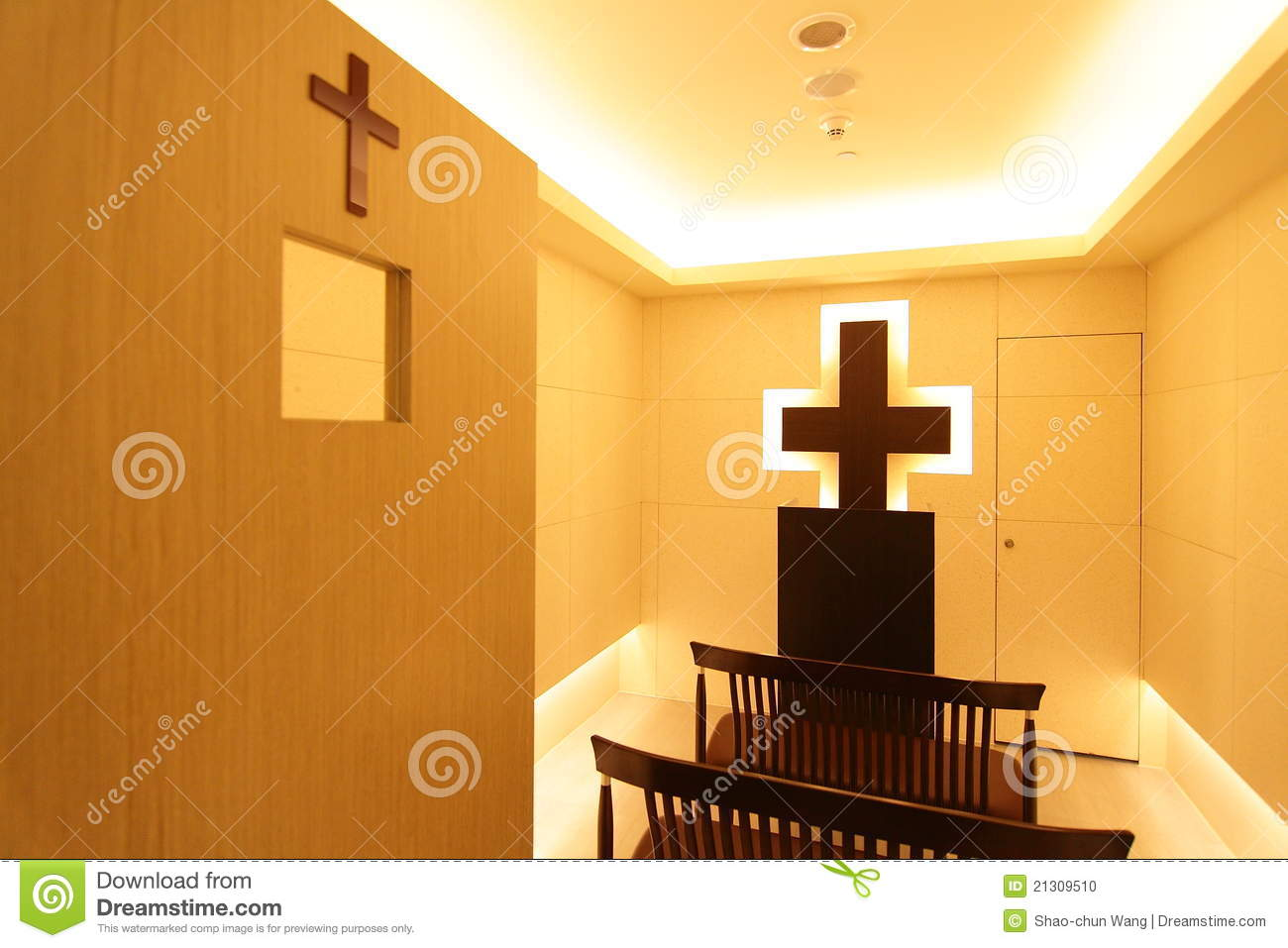 A Christian Prayer Room Stock Photo - Image: 21309510