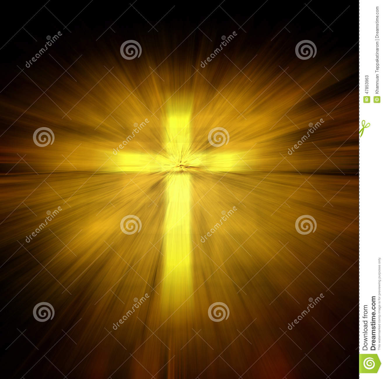 Christian religious cross stock image. Image of power ...