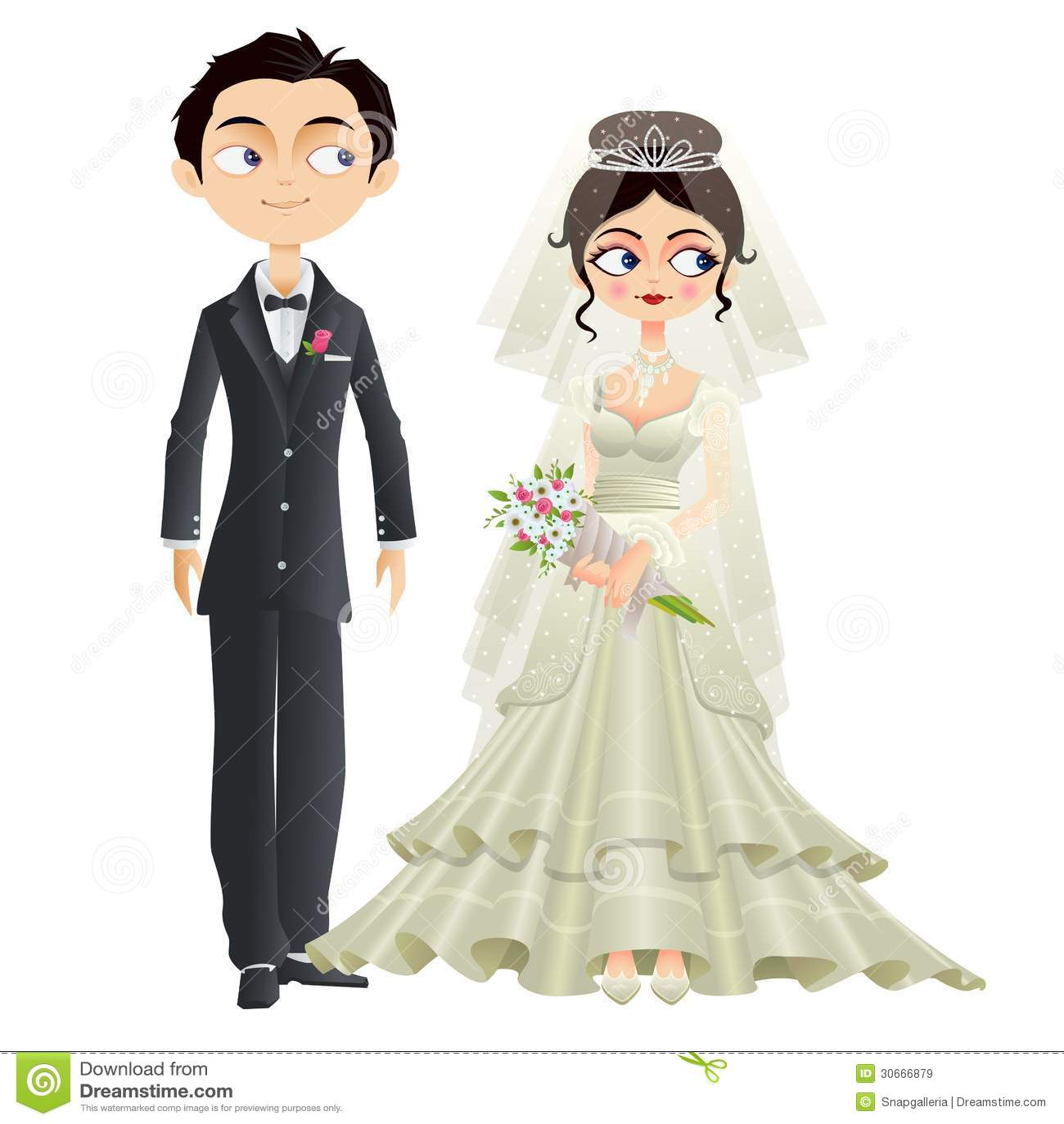 Christian Wedding Couple Royalty Free Stock Images Image