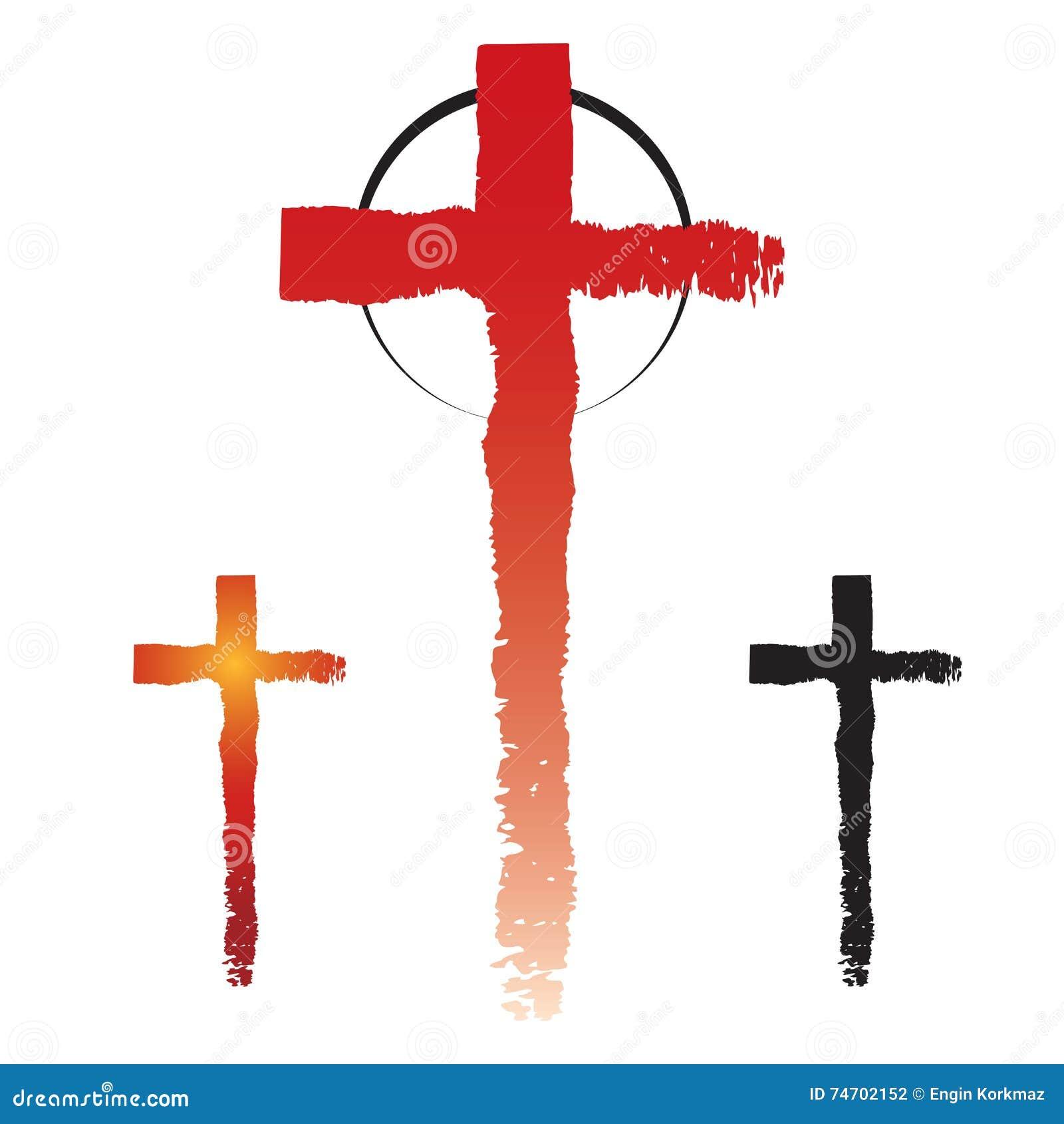 Christianity cross symbols stock vector illustration of collection christianity cross symbols biocorpaavc Gallery