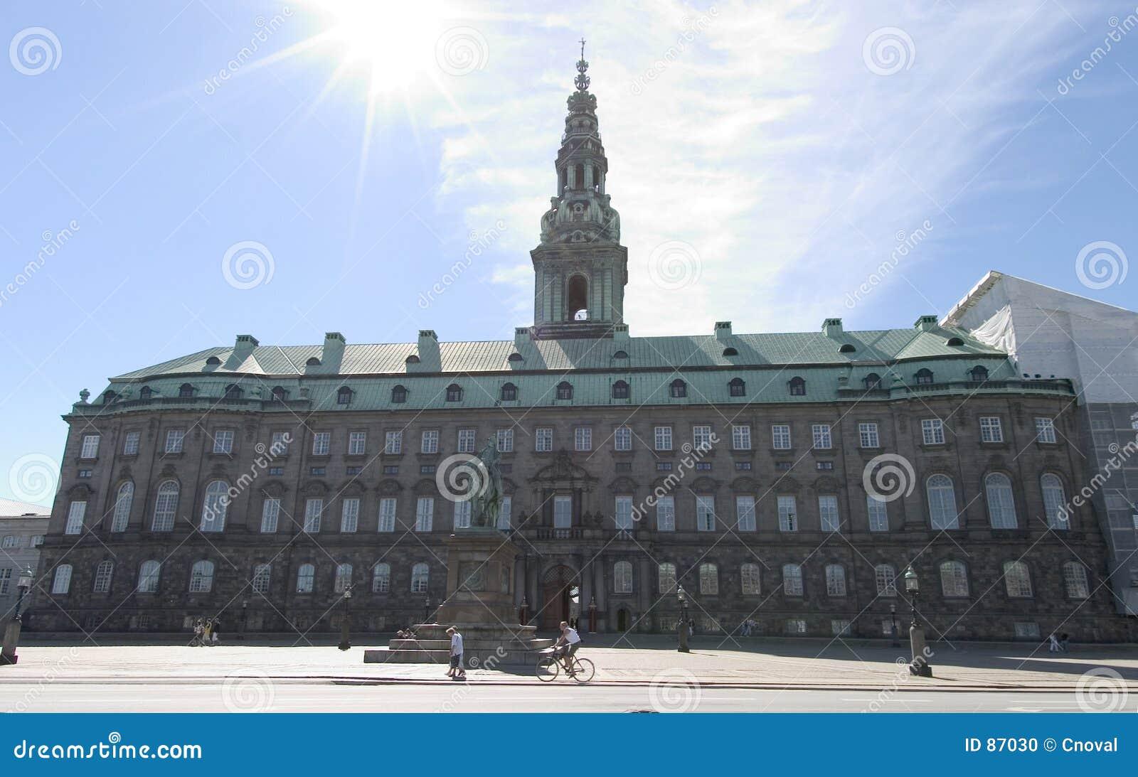 Christiansborg duński parlament