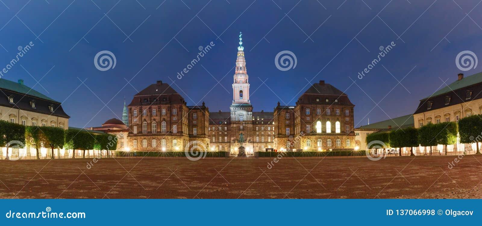 Christiansborg-Palast in Kopenhagen, Dänemark