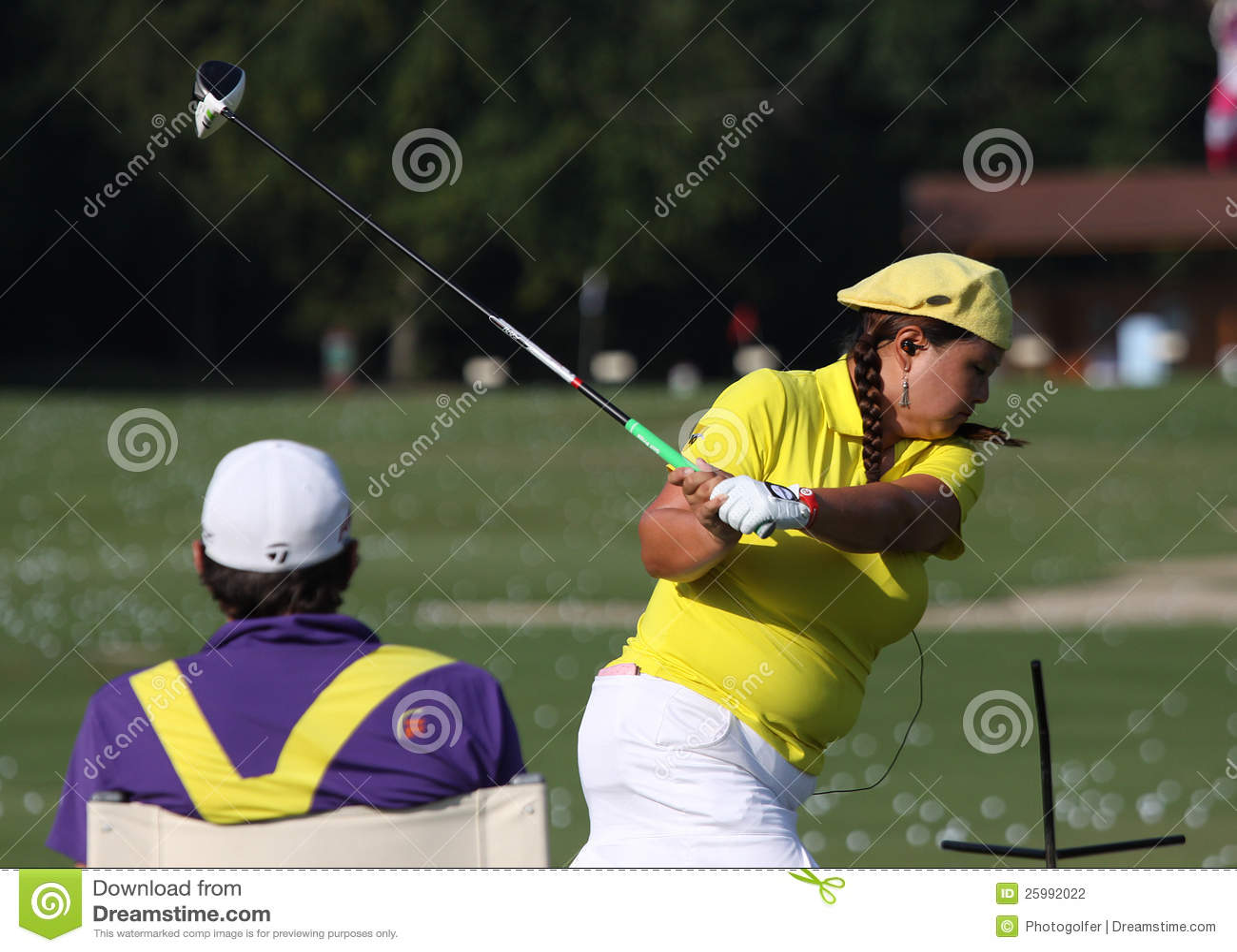 Christina Kim på golf Evian styrer 2012