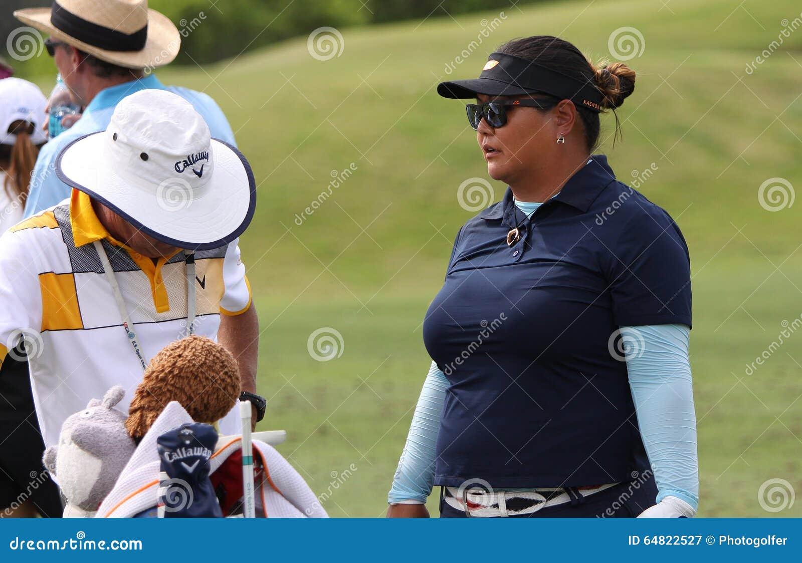 Christina Kim på turneringen 2015 för ANA inspirationgolf