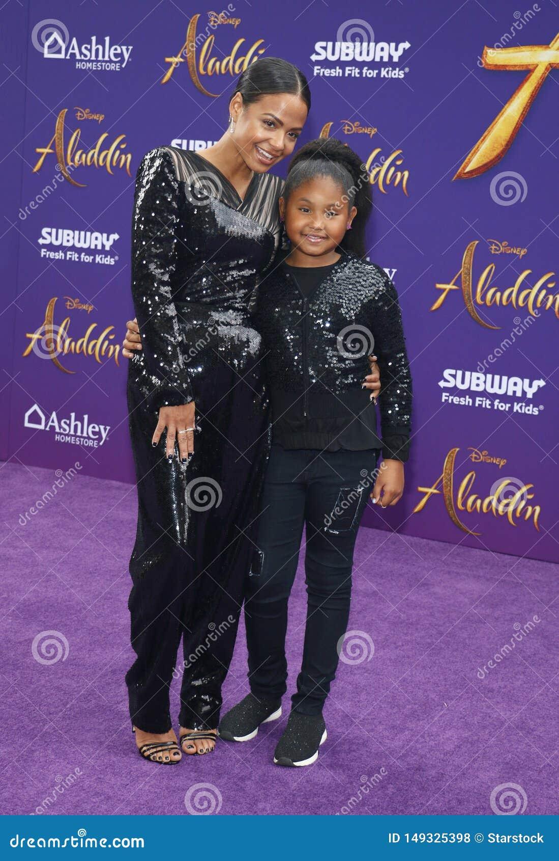 Christina Milian and Violet Madison Nash