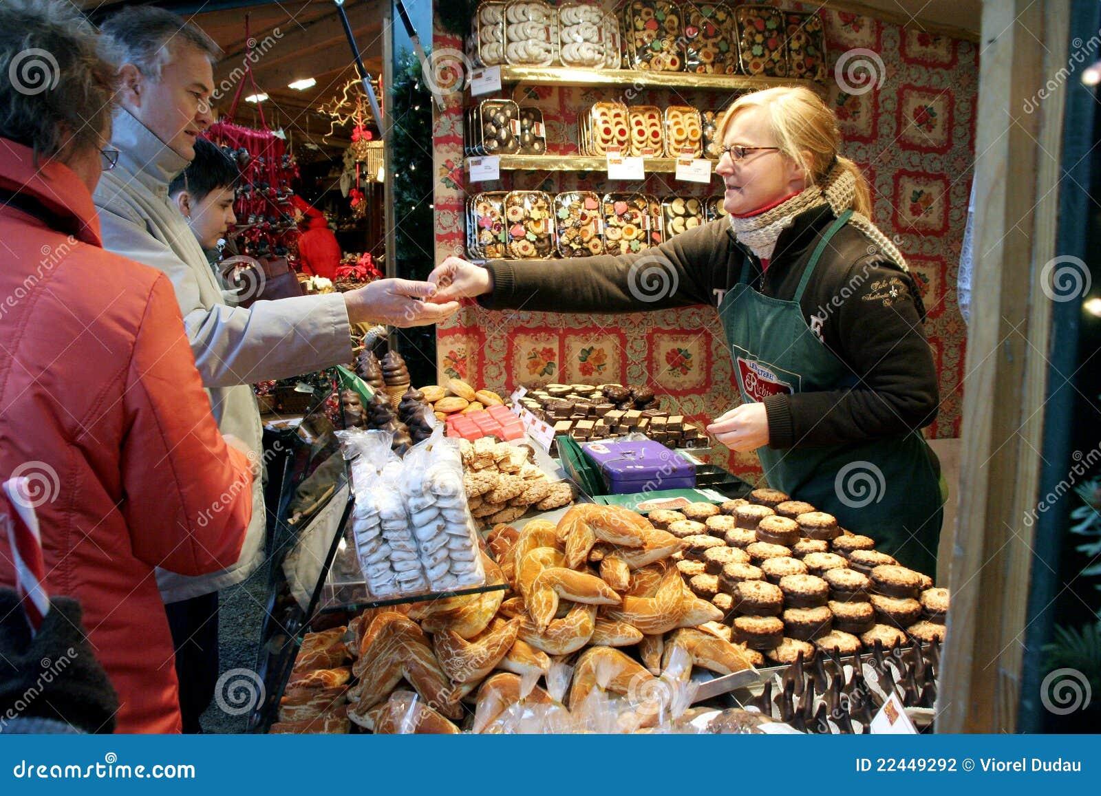 Christkindlmarkt - marché de Noël de Vienne