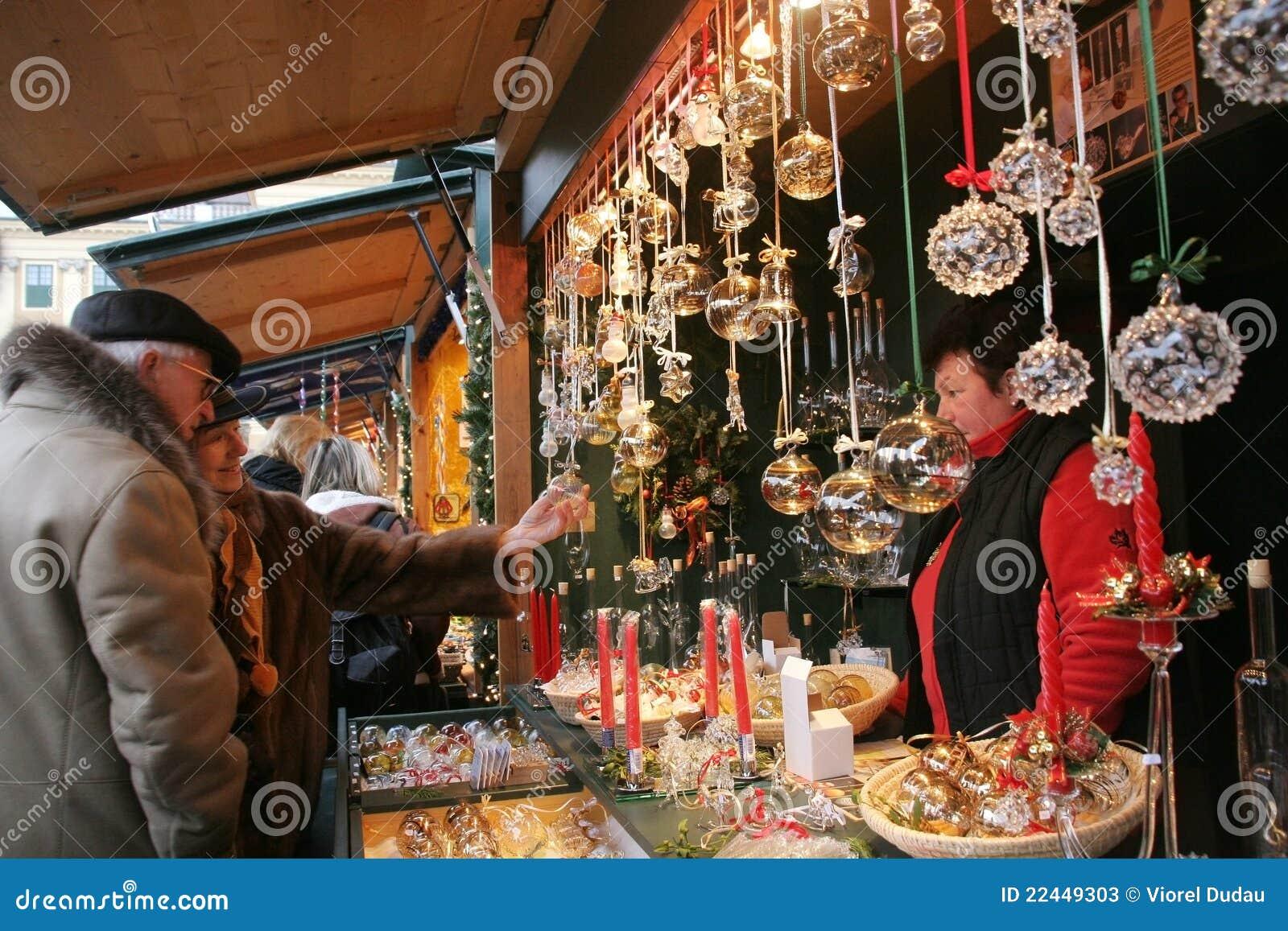 Christkindlmarkt Vienna Christmas Market Editorial Stock