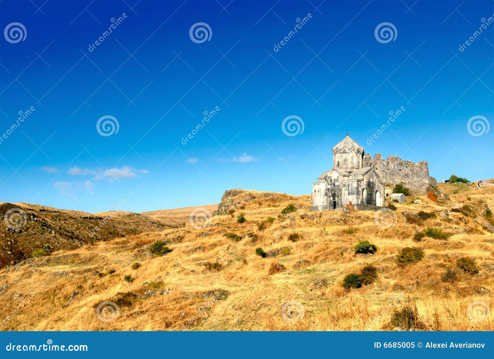 Christliche Festung Amberd