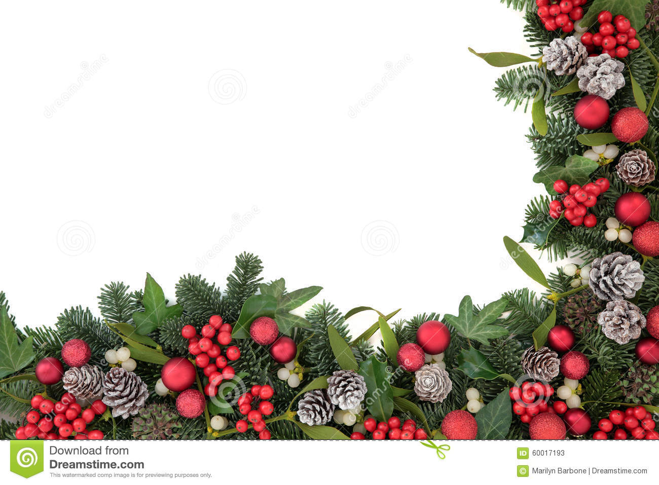 Christmas abstract background stock photo image 60017193 for Holly and ivy border