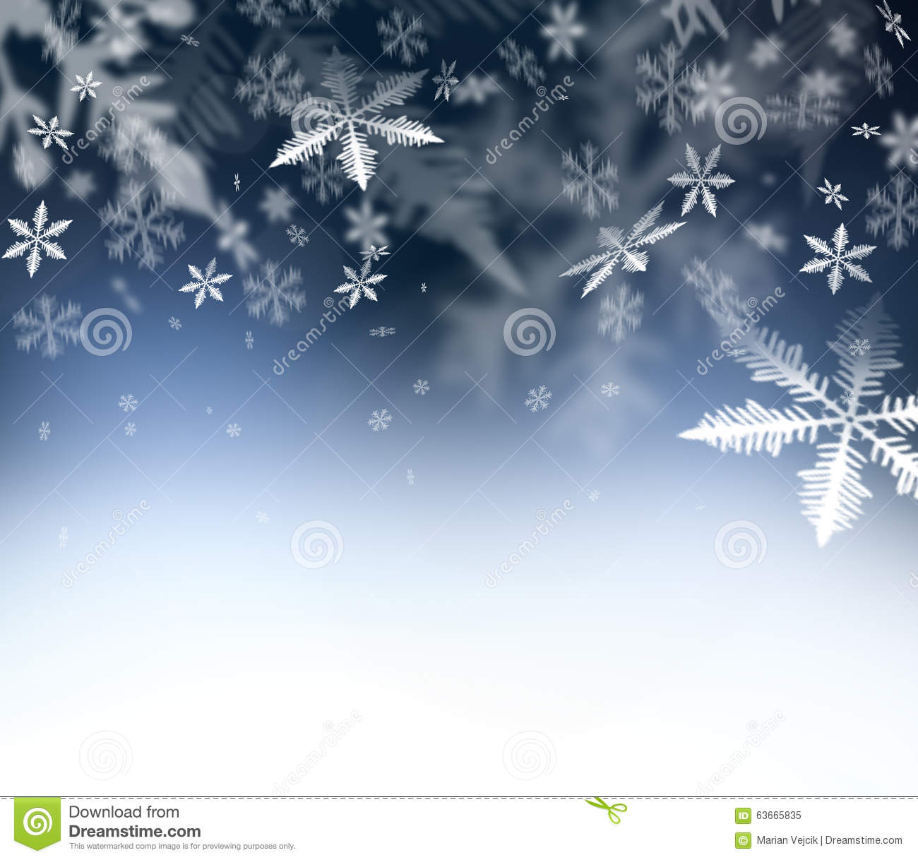 christmas abstract background falling snowflakes on blue abstract sky free space for your christmas and new year wishes felicitation