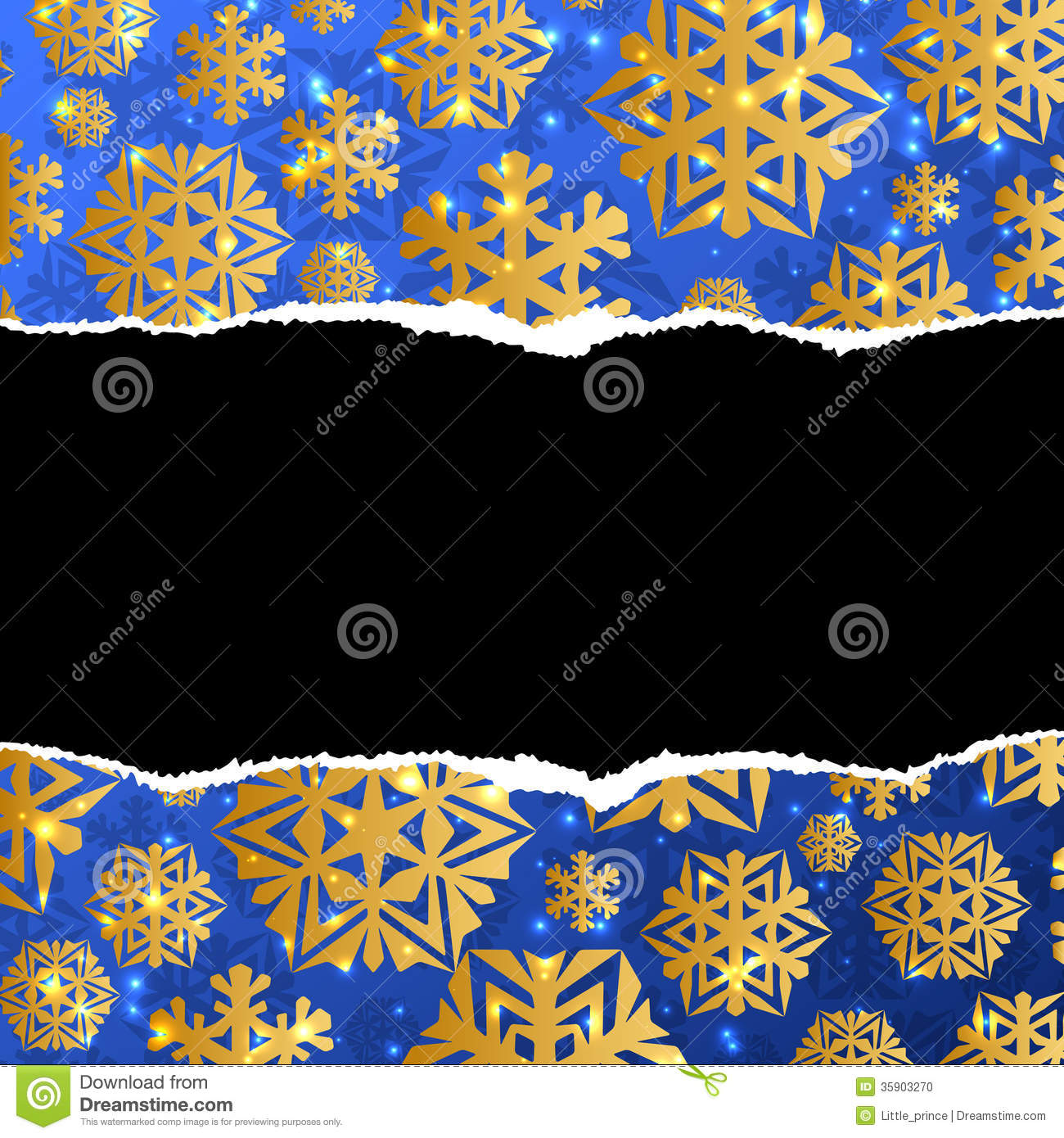 Blue and gold christmas abstract background stock photo for Blue and gold christmas