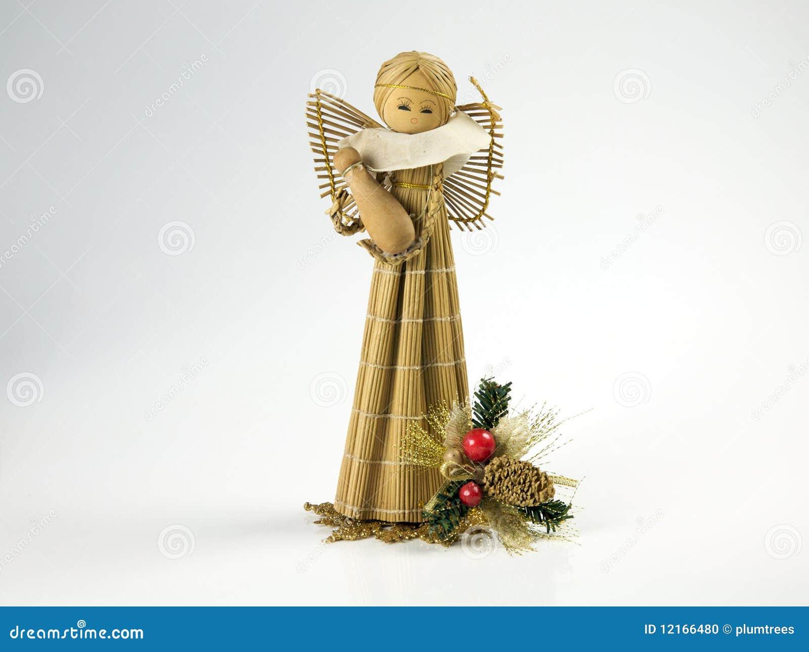 Christmas, angel figure