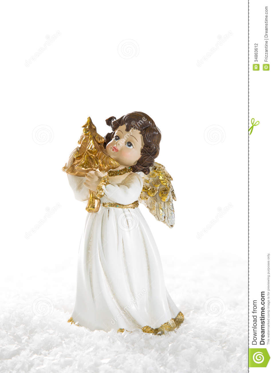 download christmas angel isolated for a christmas card or religious bac stock photo image - A Christmas Angel