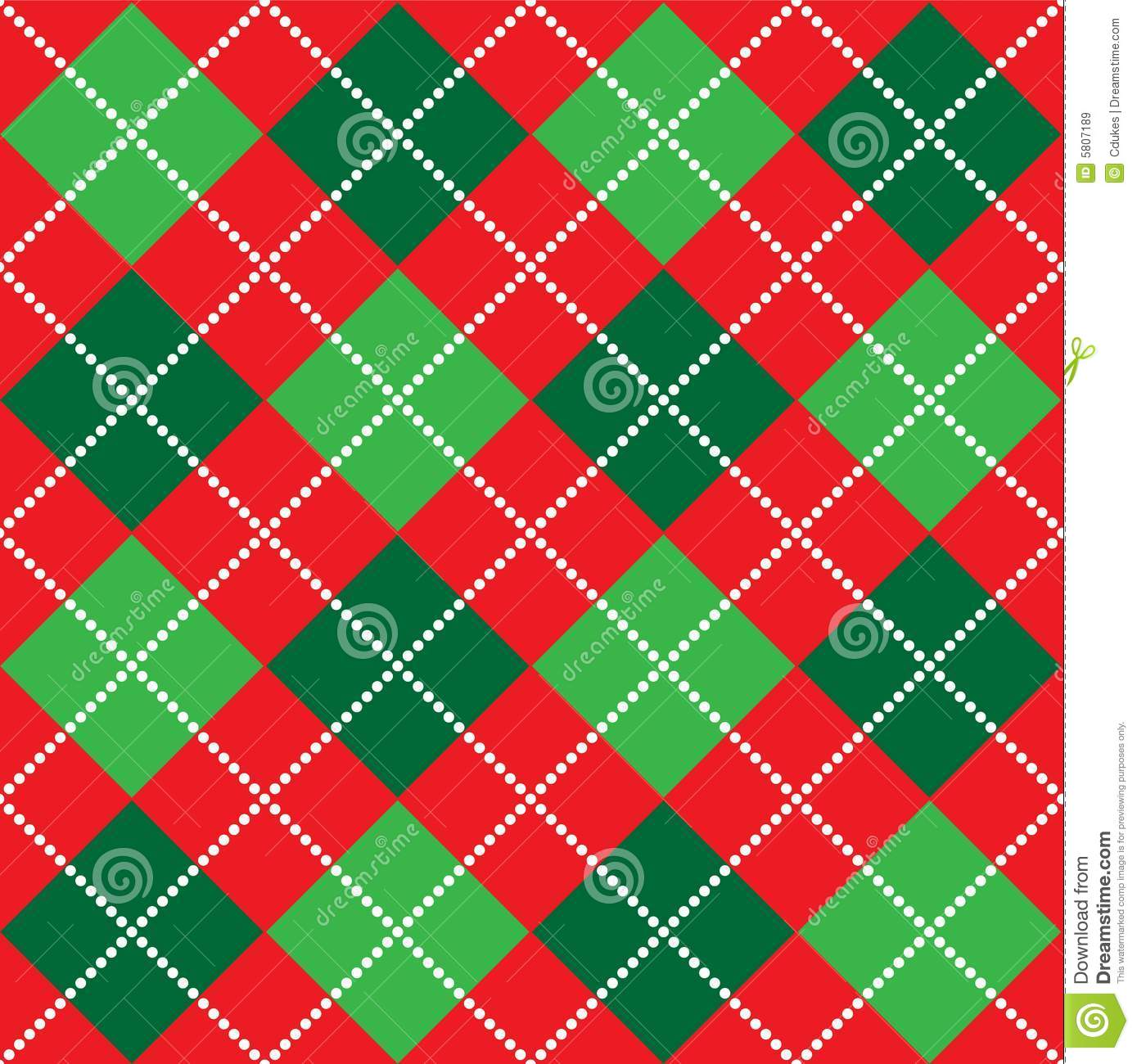 christmas argyle pattern royalty free stock images
