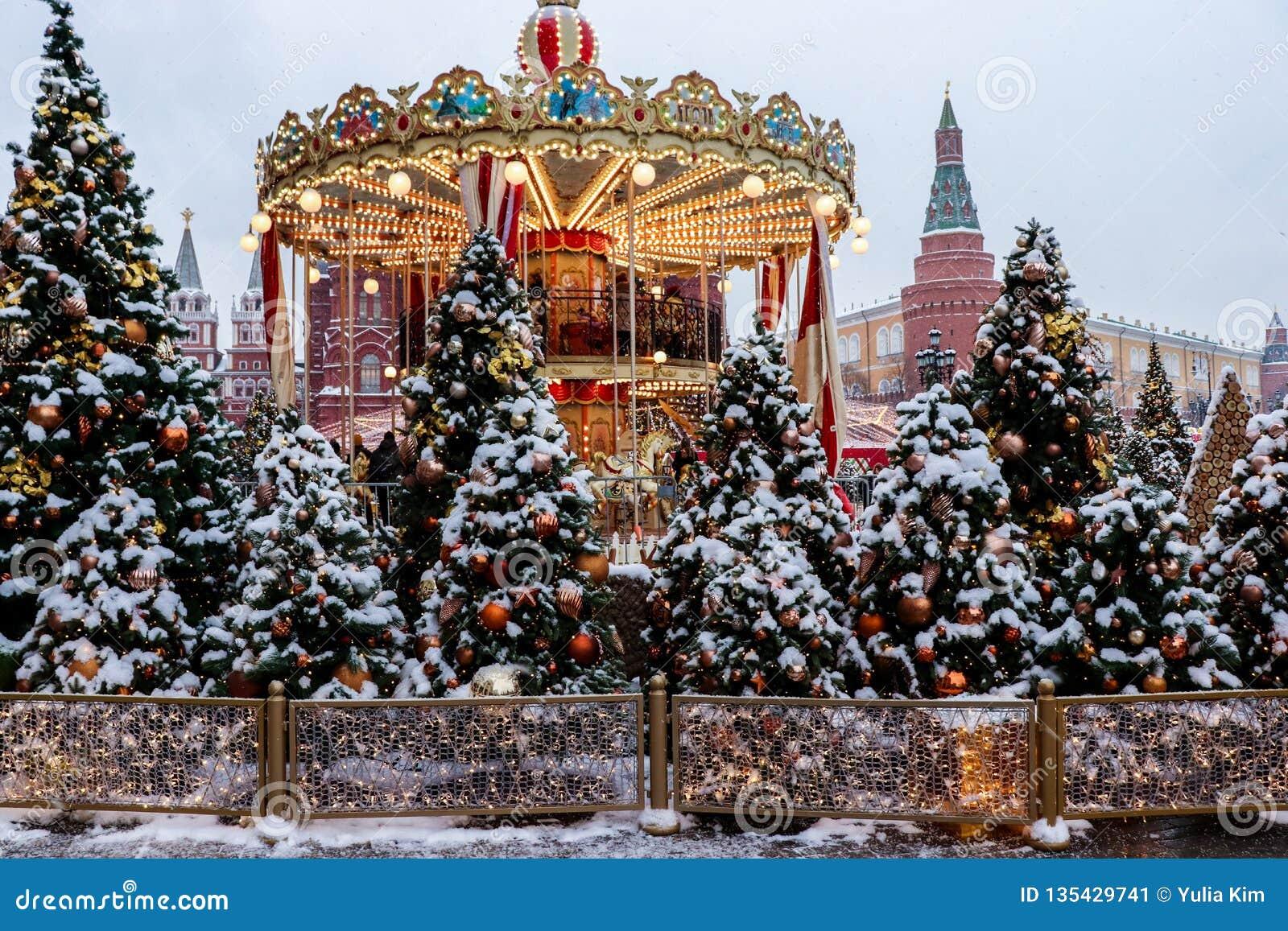 Christmas atmoshere w mieście