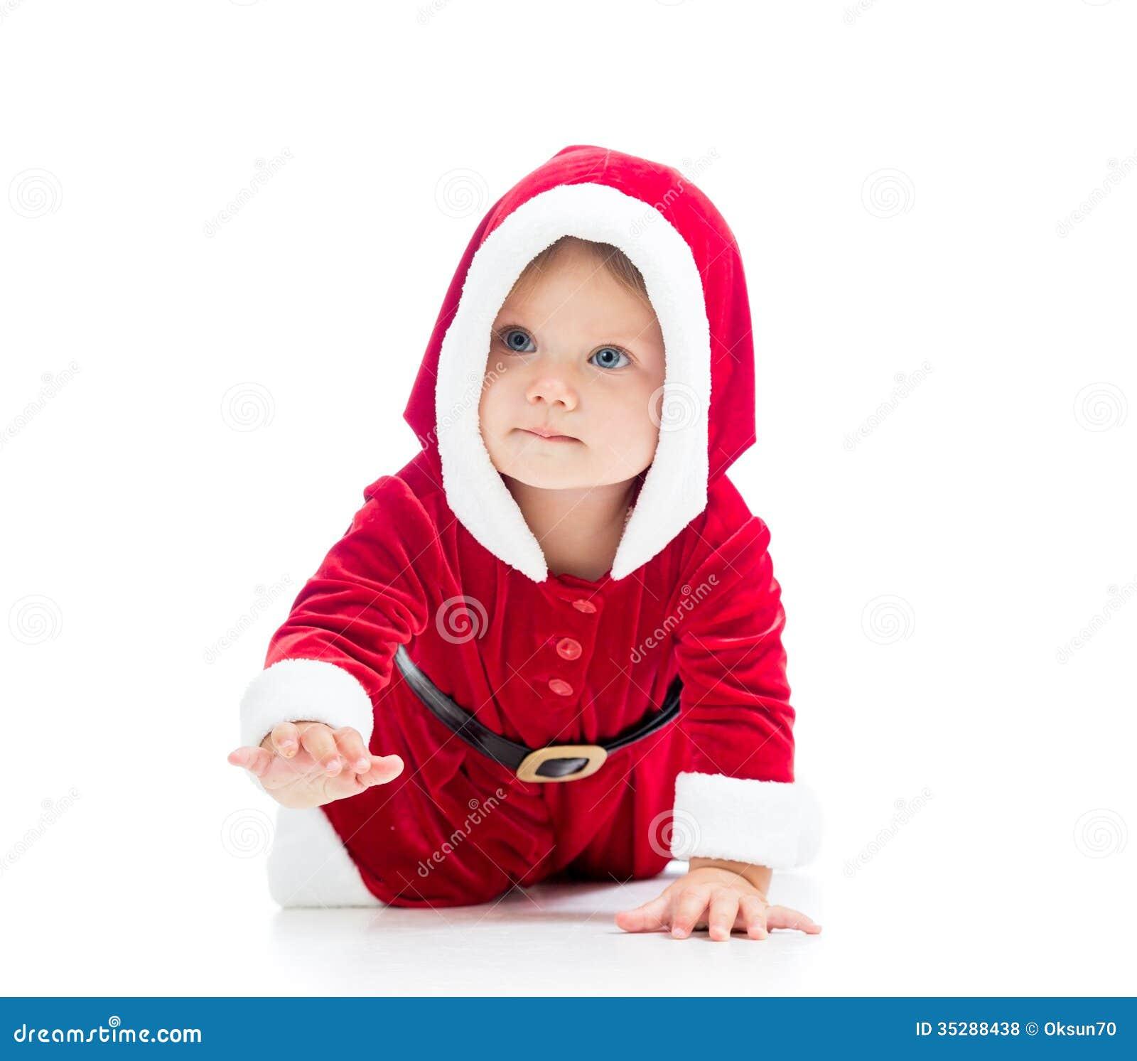 Christmas Baby Girl Royalty Free Stock Photos - Image: 35288438