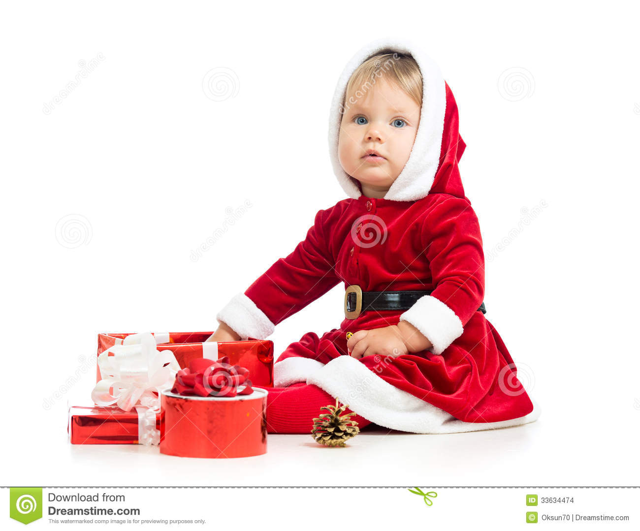 Baby's First Christmas Gifts Ho, ho, ho! There's no jollier time to be a baby than at Christmas - and of course it's up to you to make sure you choose baby Christmas gifts that make this festive holiday memorable for the smallest celebrants.