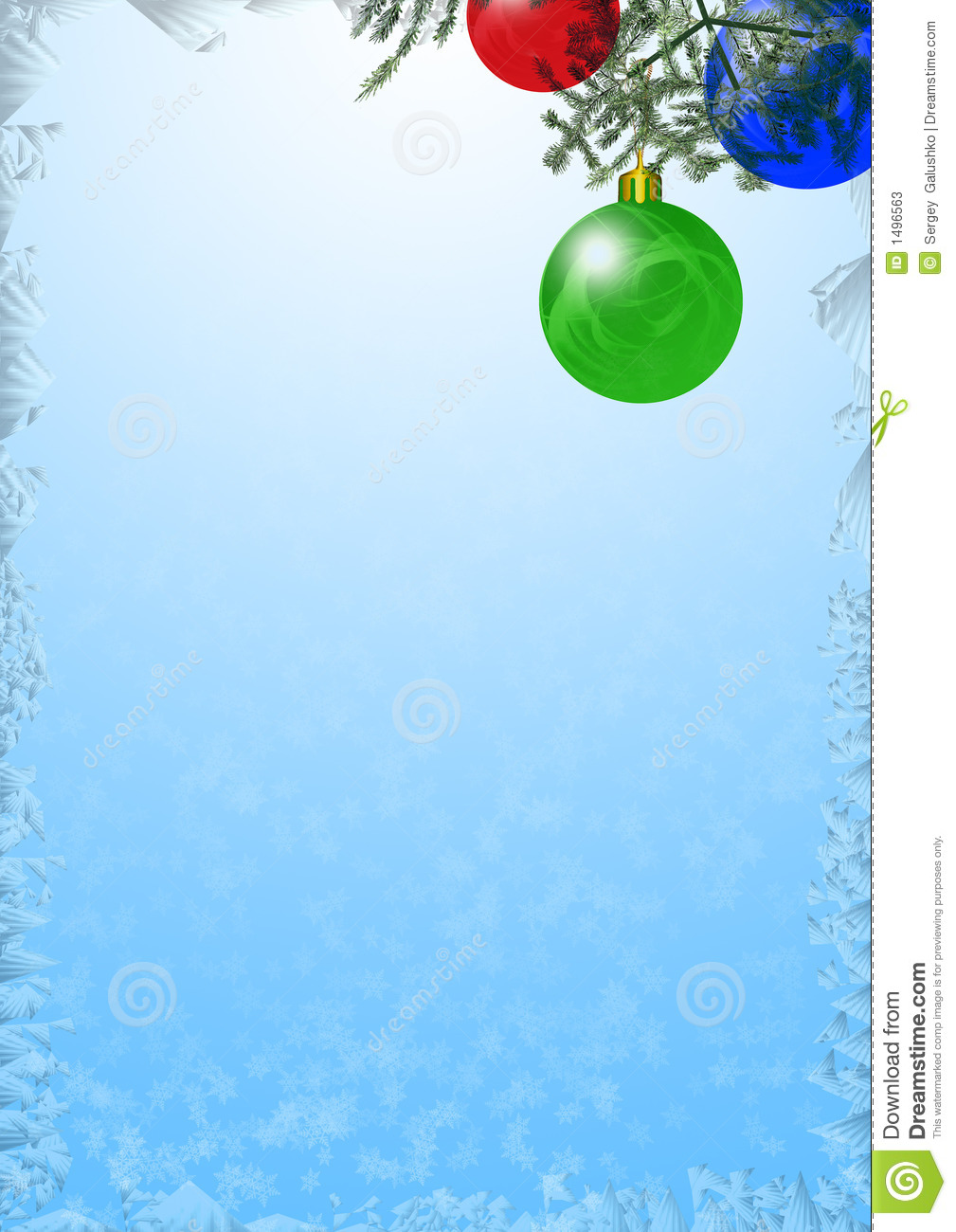 Christmas background stock illustration. Illustration of