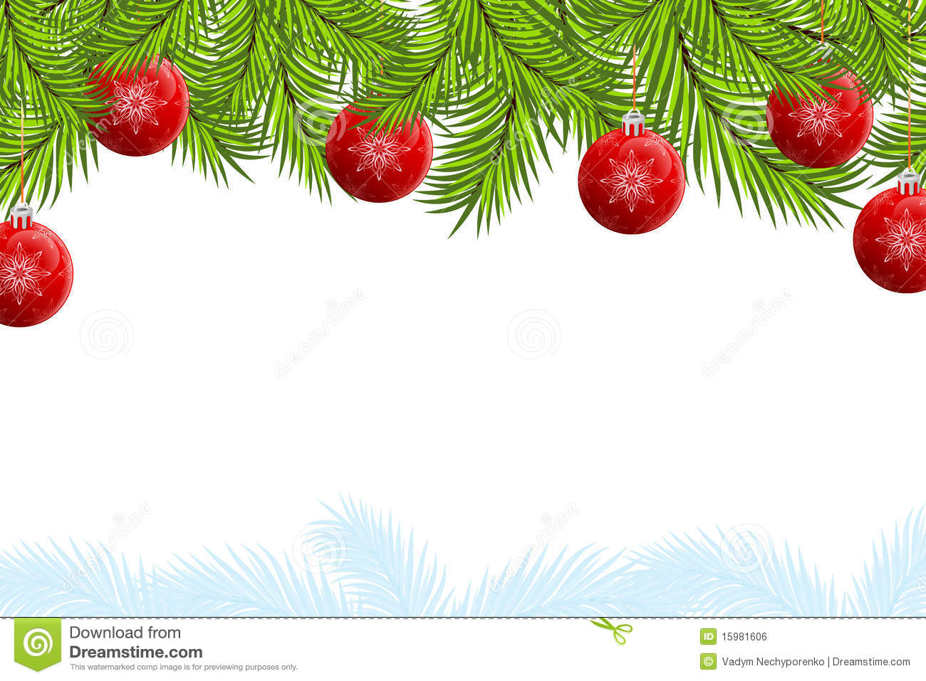 With white christmas background and snow vector vector background - Christmas Background Royalty Free Stock Image Image