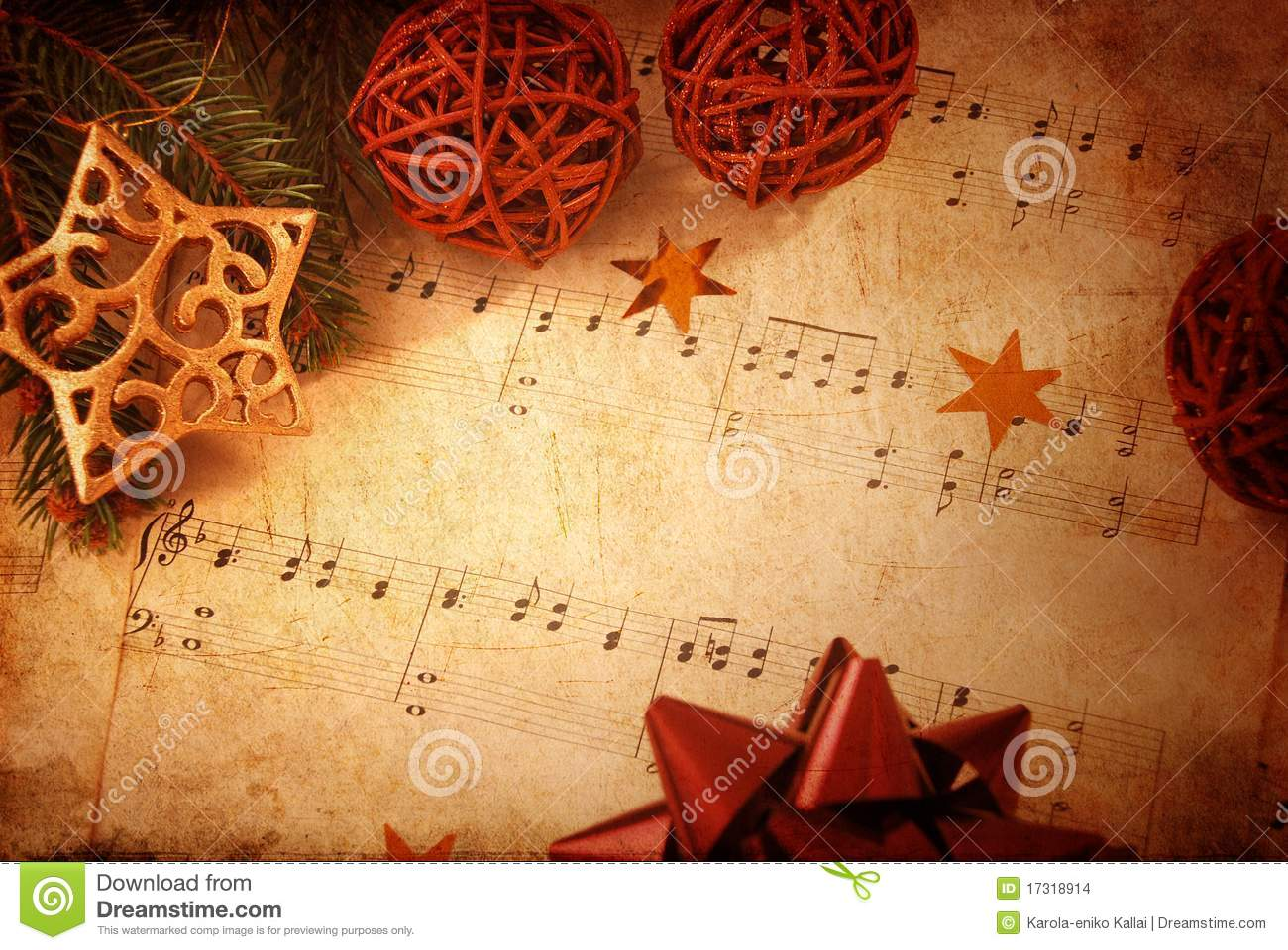 christmas background stock photo. image of star, music - 17318914