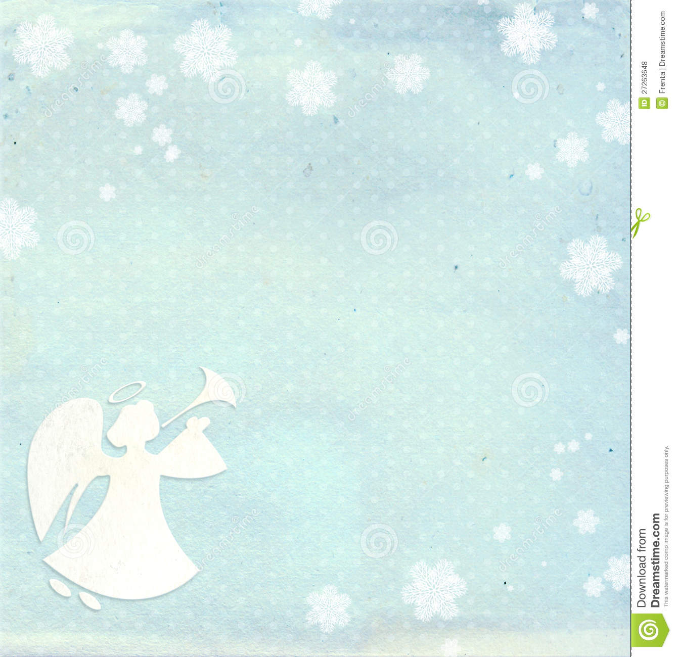 Christmas Background With Angel Royalty Free Stock Photos - Image ...