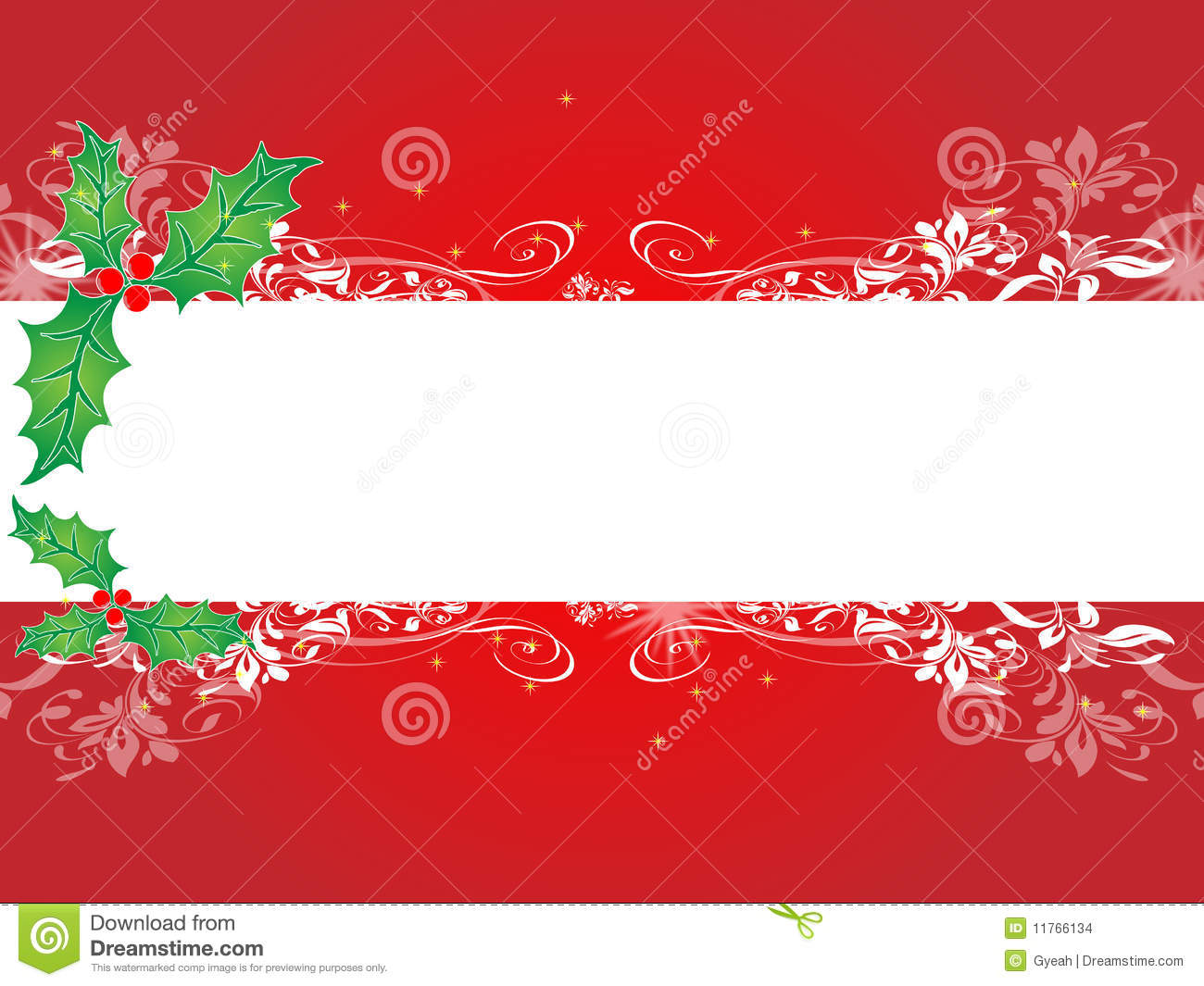 Christmas Background Banner Stock Images - Image: 11766134