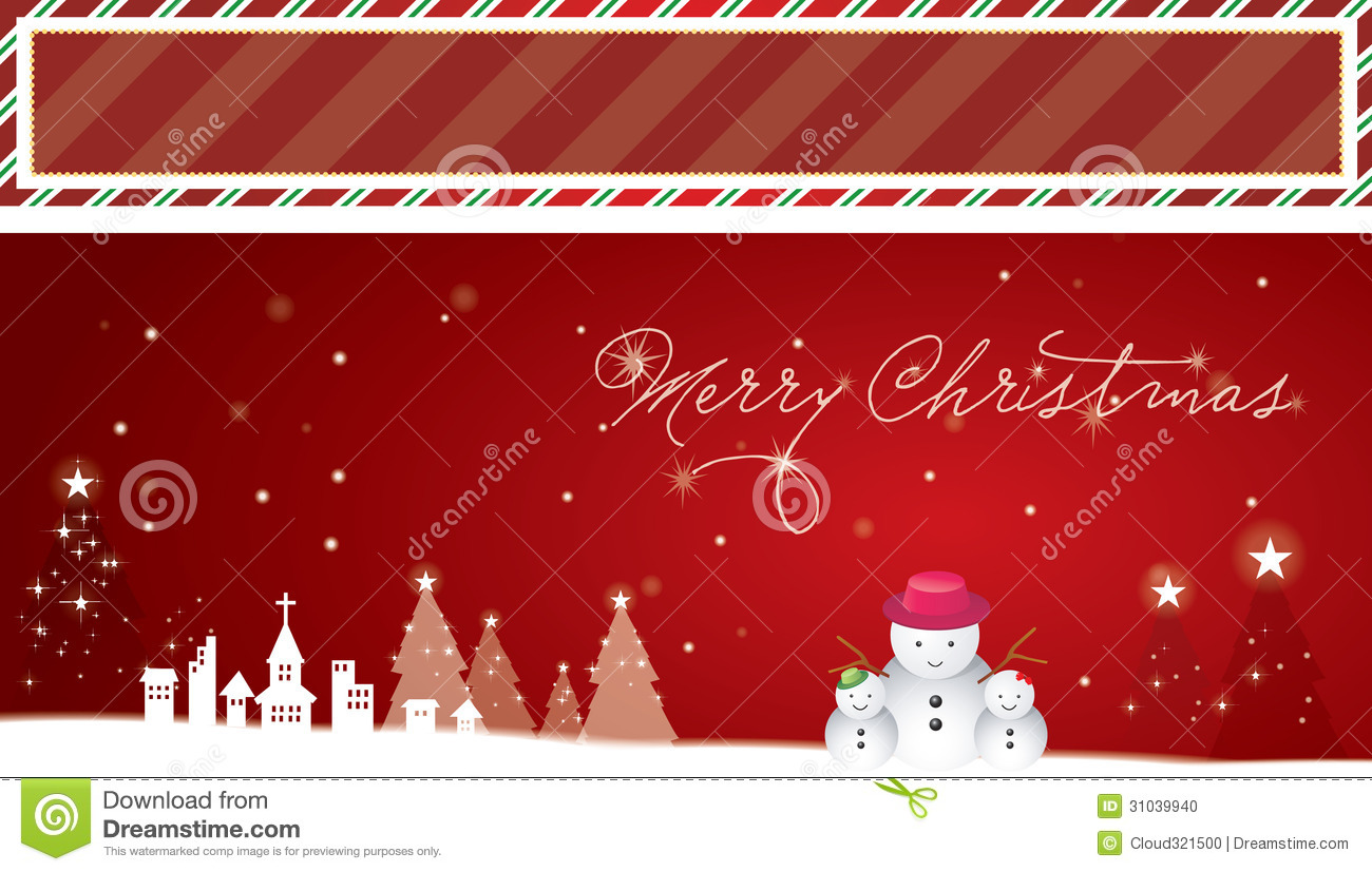 Christmas Background And Banner Stock Photo - Image: 31039940