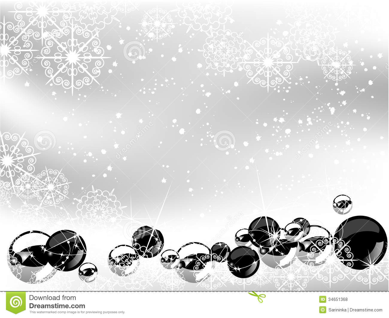 Christmas background stock vector. Illustration of border - 34651368