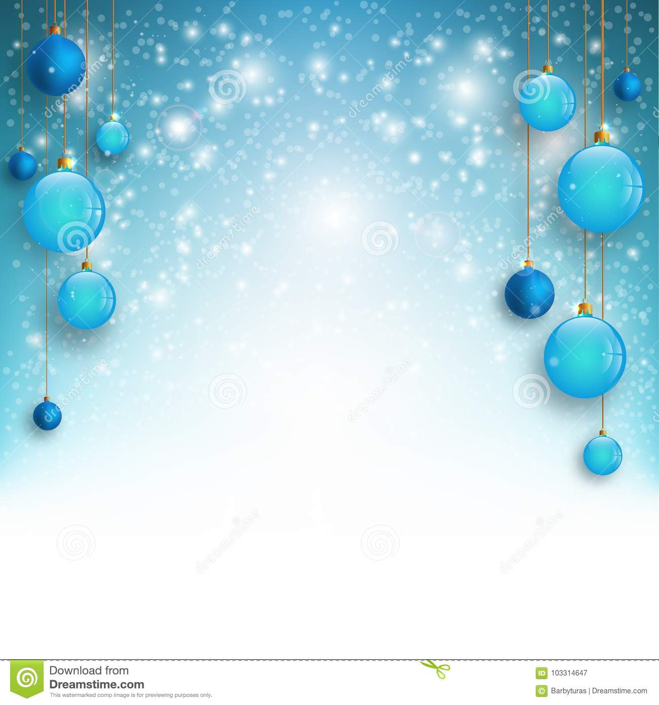 christmas background with blue christmas balls and snow for xmas design vector illustration stock illustration illustration of present elegant 103314647 https www dreamstime com christmas background blue christmas balls snow xmas design vector illustration christmas background blue image103314647