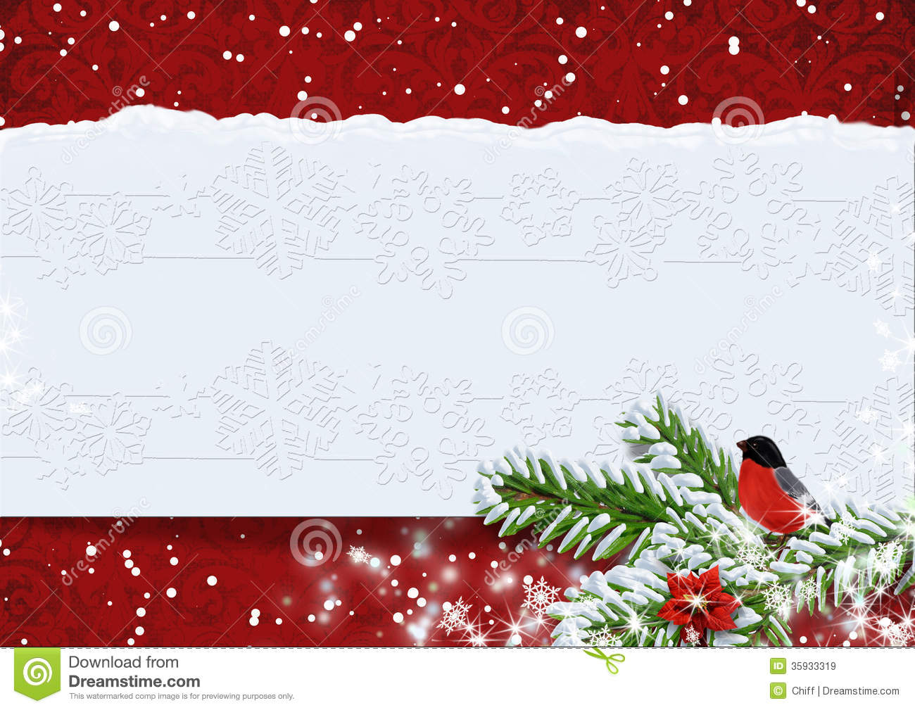 red snow christmas background - photo #49