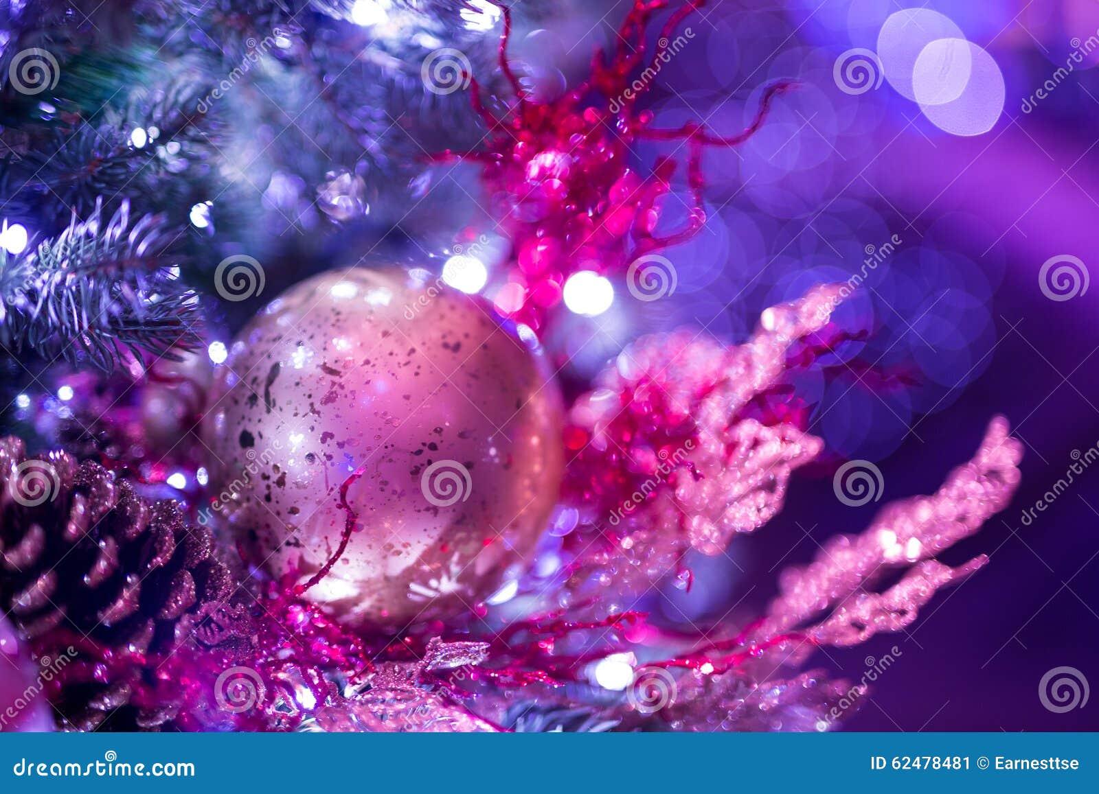 Christmas background with christmass balls