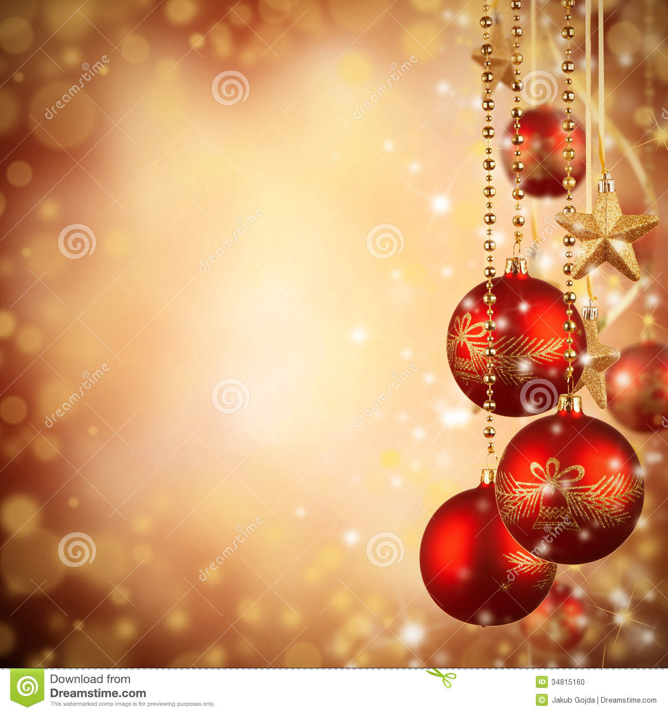 Christmas background stock photo image 34815160 for Background decoration