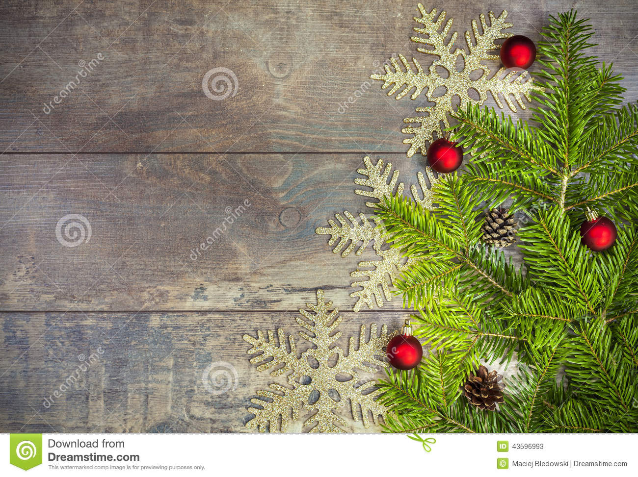 Christmas Tree Branches Background Stock Photo - Image: 47644494