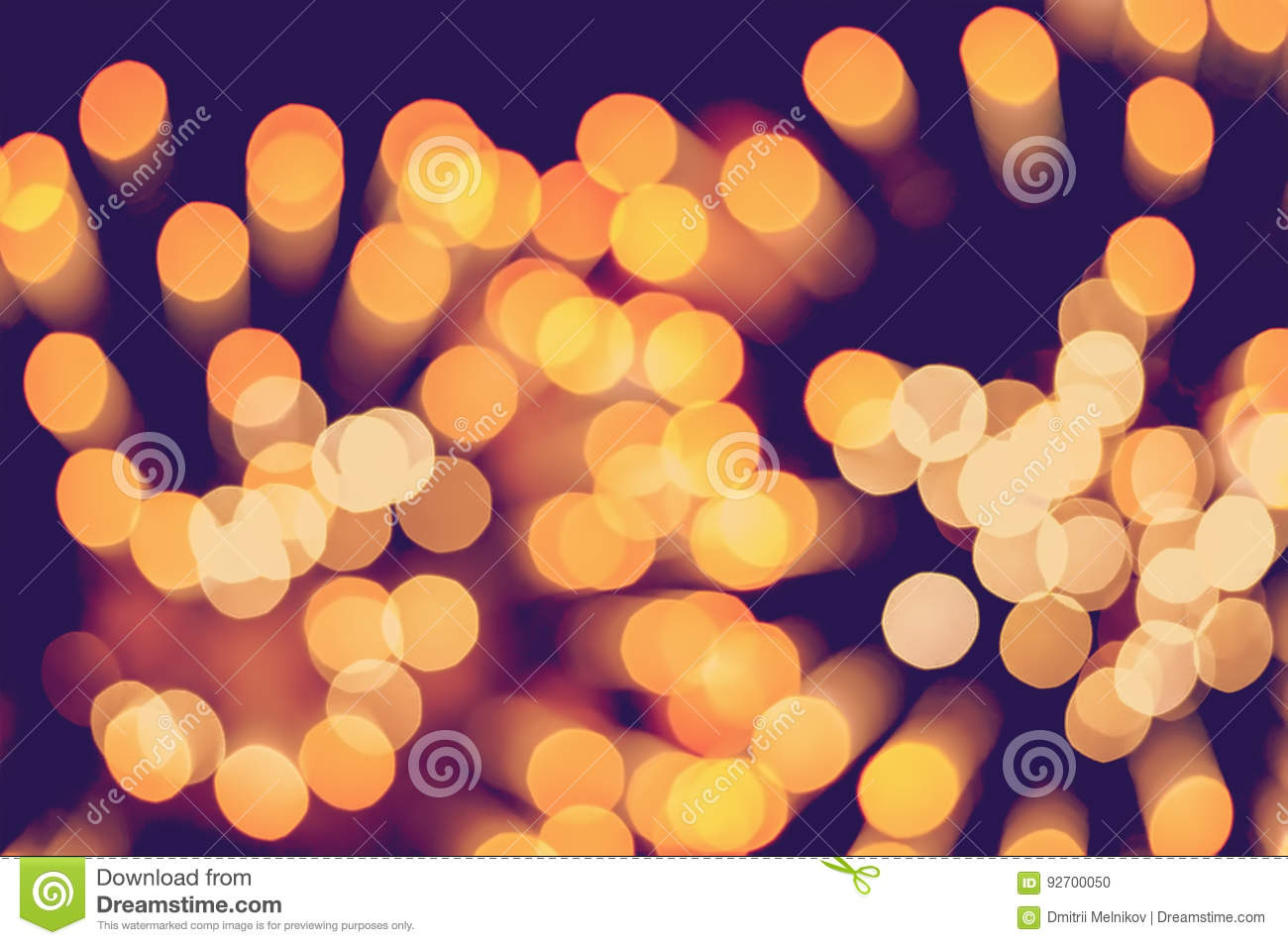 Christmas background. Festive elegant abstract background with bokeh lights and stars