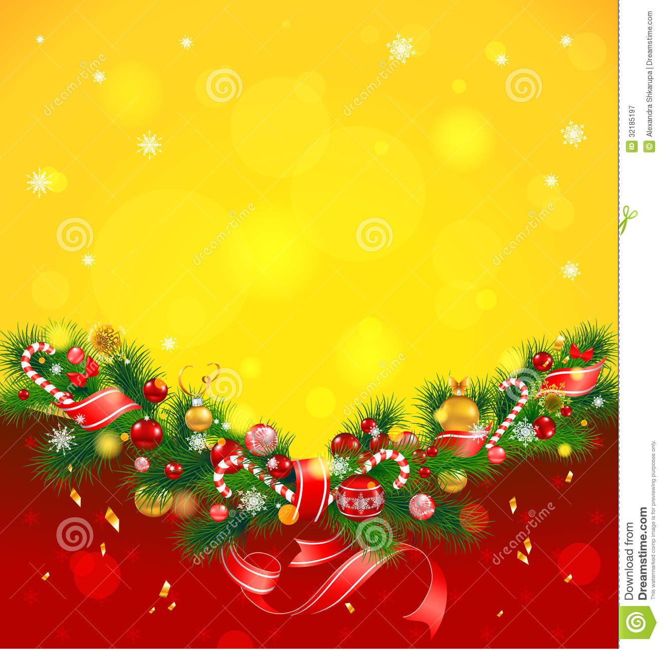 christmas background with fir tree stock vector illustration of