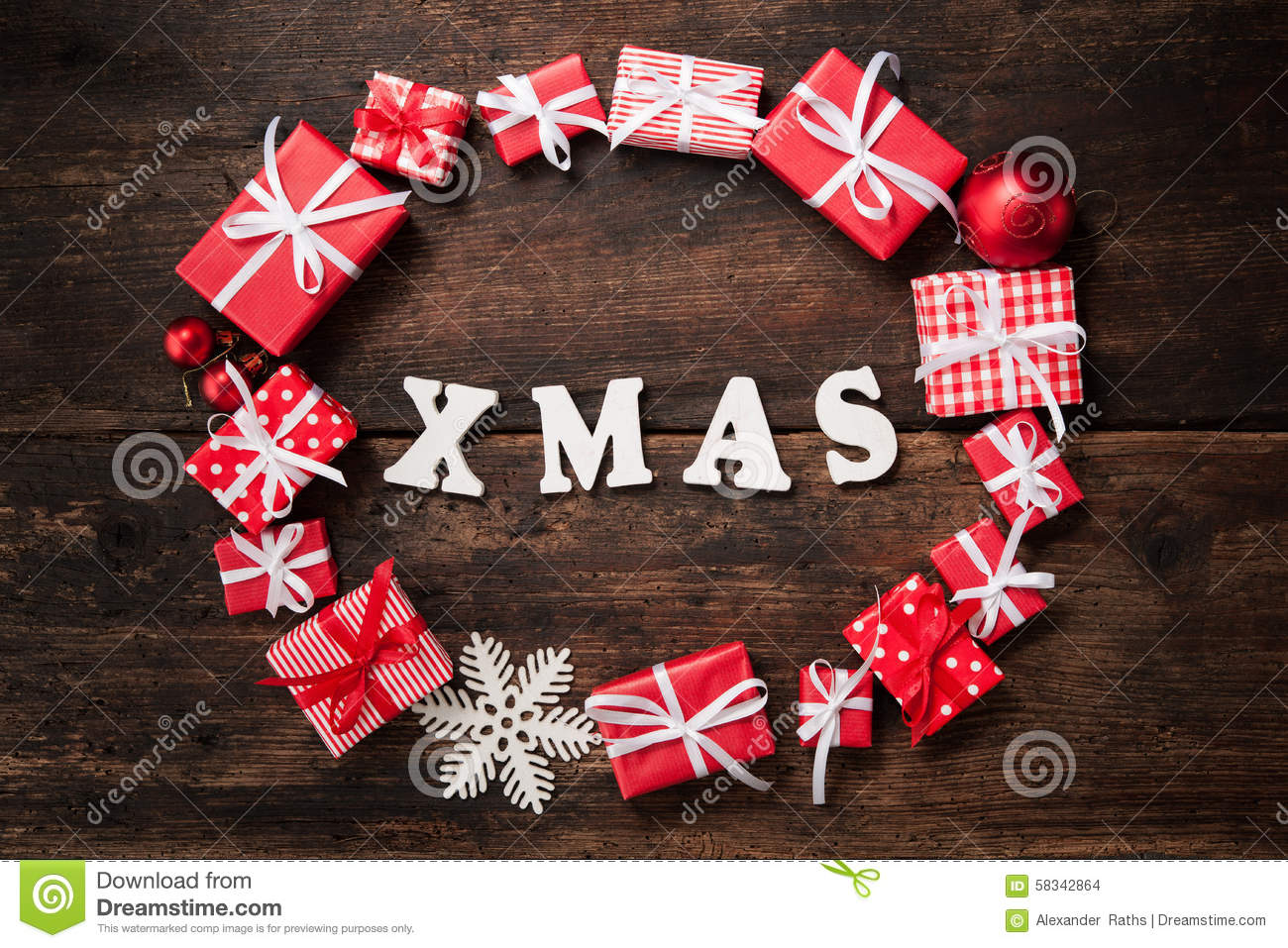 Christmas background stock photo image