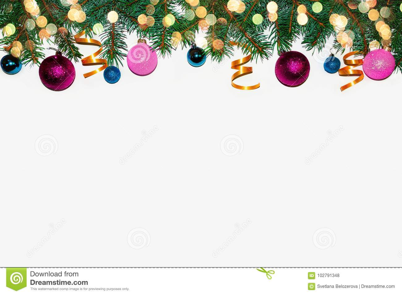 christmas frame made of fir branches new years toys christmas wallpapers flat top view merry christmas card winter holiday theme happy new year