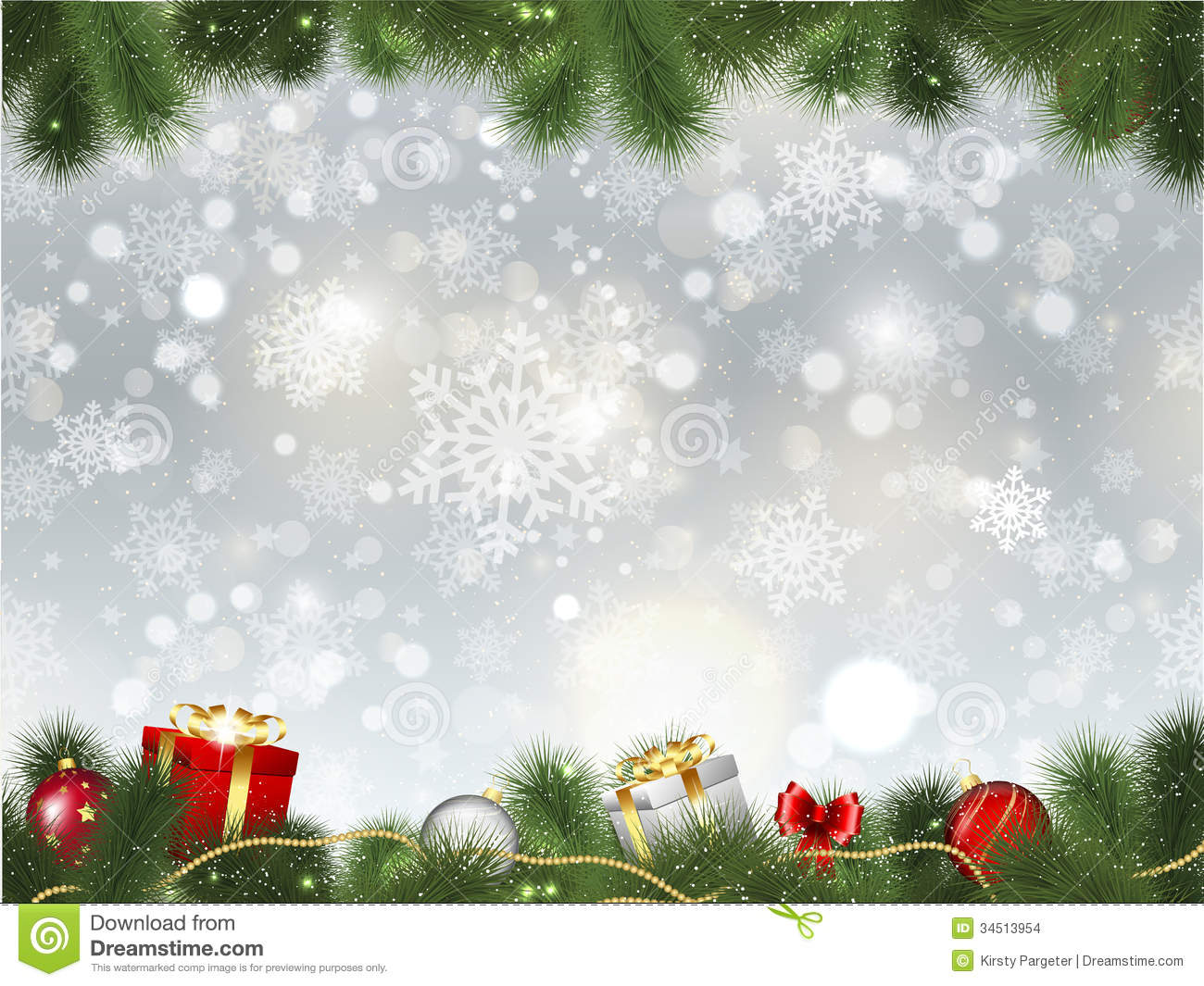 Christmas background stock vector illustration of for Background decoration images