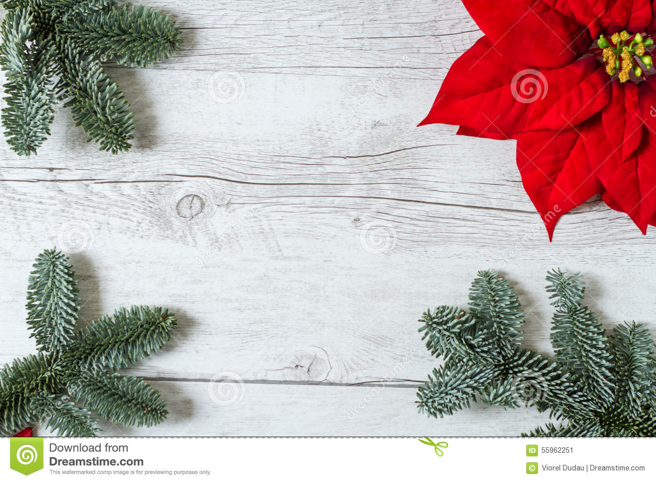Christmas Background For Greeting Card Stock Image - Image of white ...