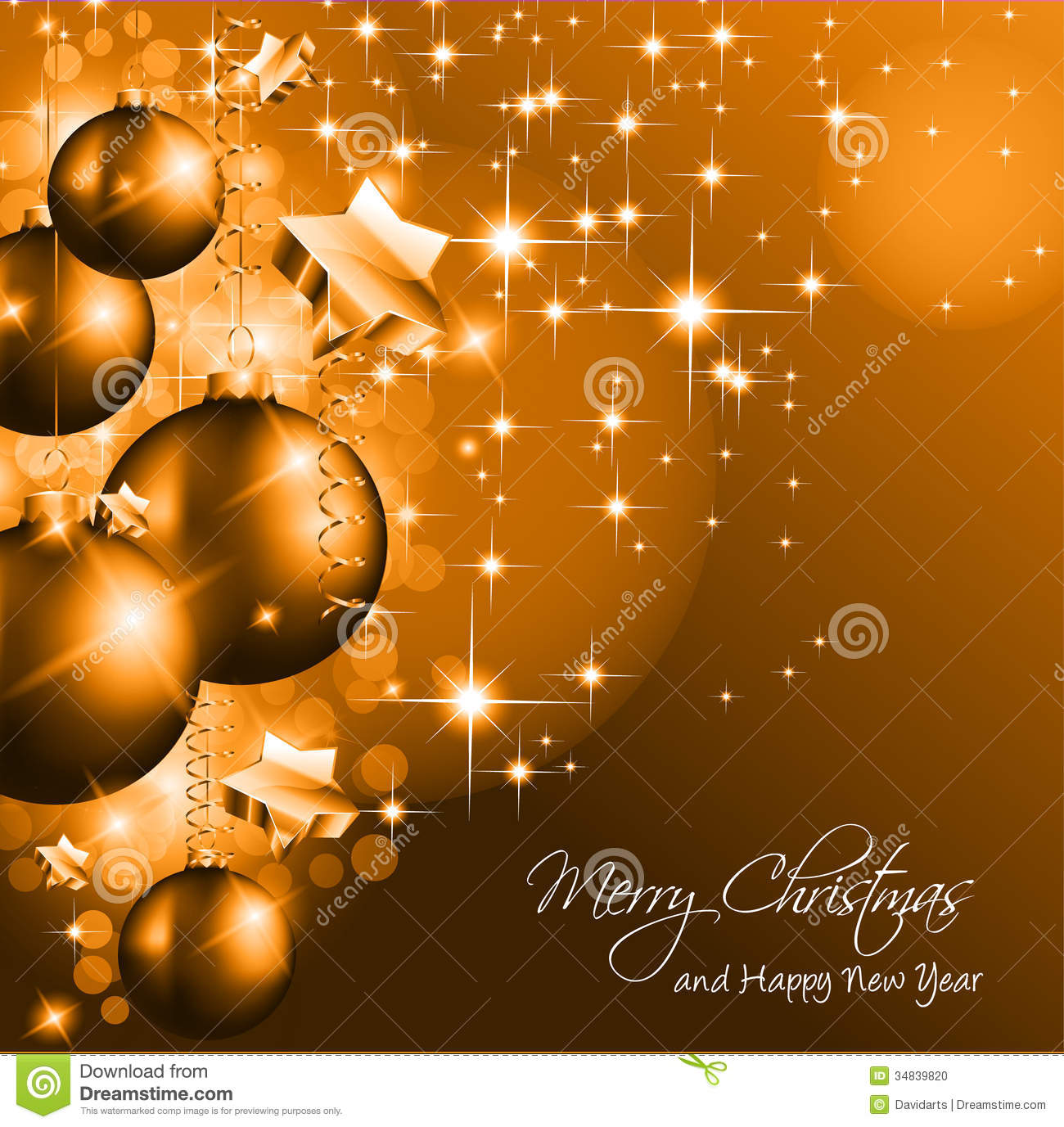 christmas background for greetings  stock photo