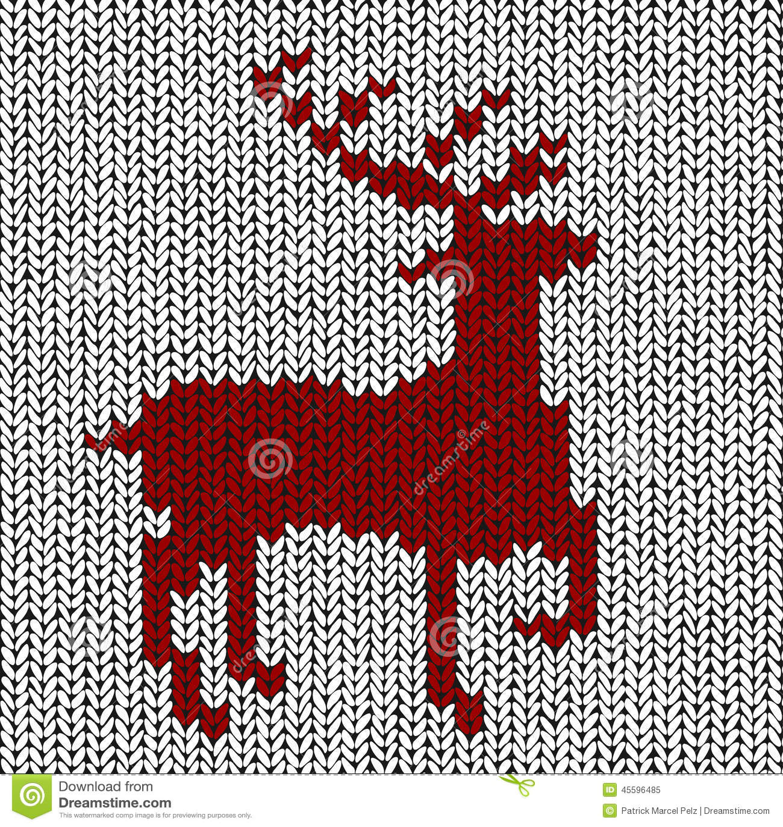 Christmas Background - Norwegian Knitting Patterns Stock ...