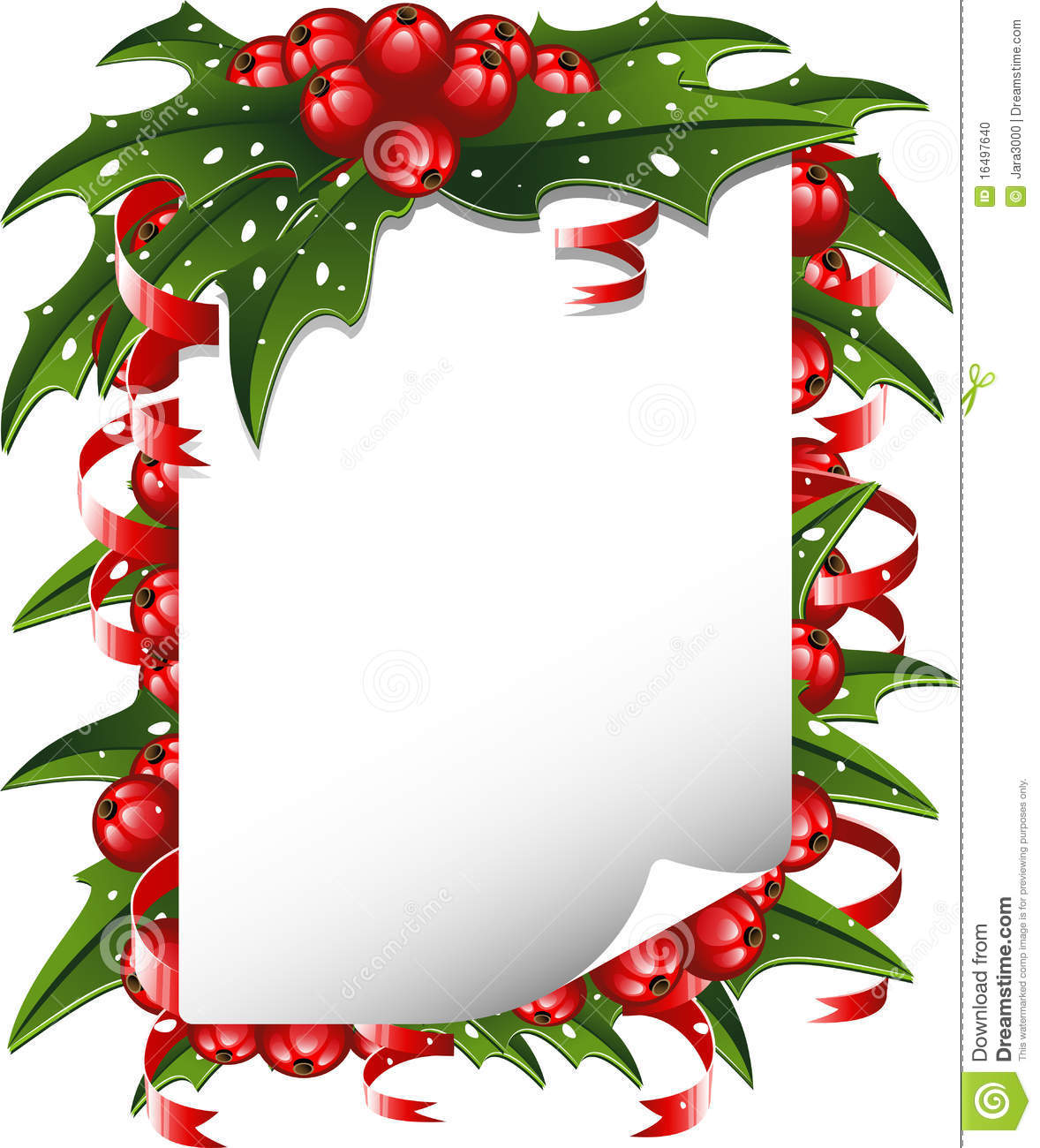 Christmas Wishes Clipart