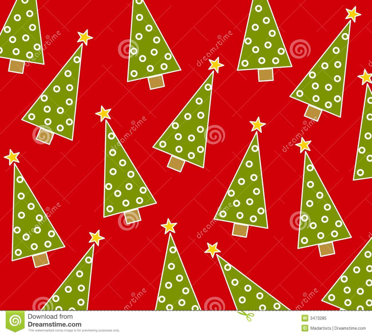 Christmas Background Pattern Royalty Free Stock Photo - Image: 3473285