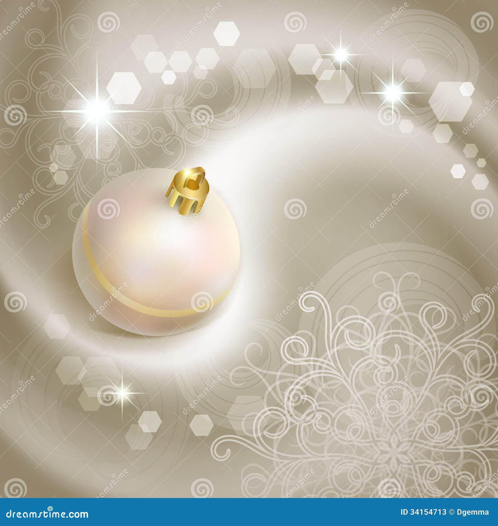 christmas background with pearl christmas tree ball - The Christmas Pearl