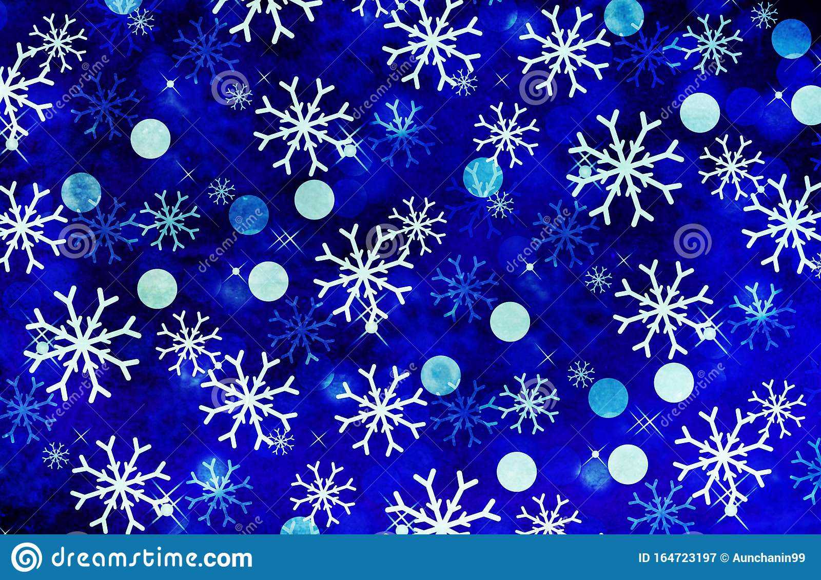 christmas background snowflakes blue illustration design colors abstract winter creative wall wallpaper backdrop print 164723197